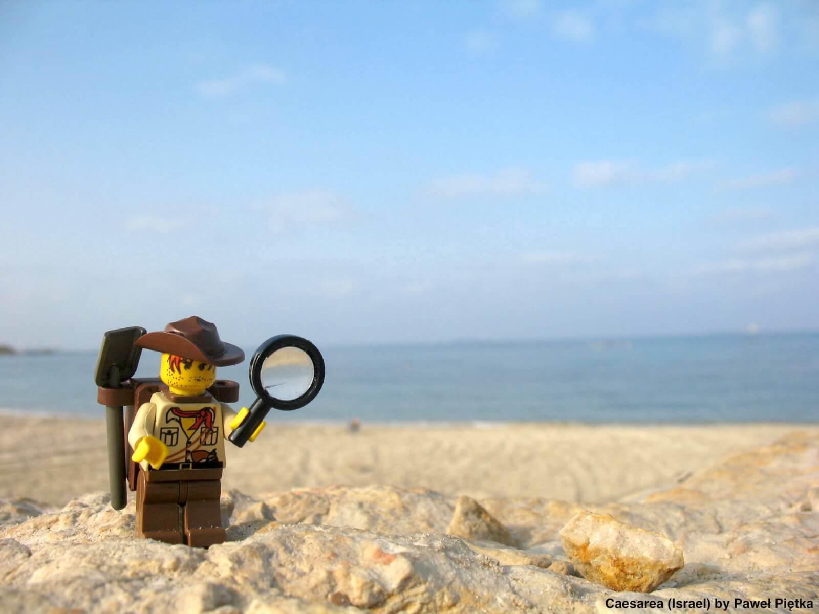 Caesarea (Israel) - Beach Sea