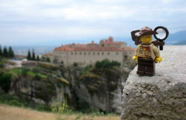 Greece: Kalabaka, Meteora (Lego & Travel)