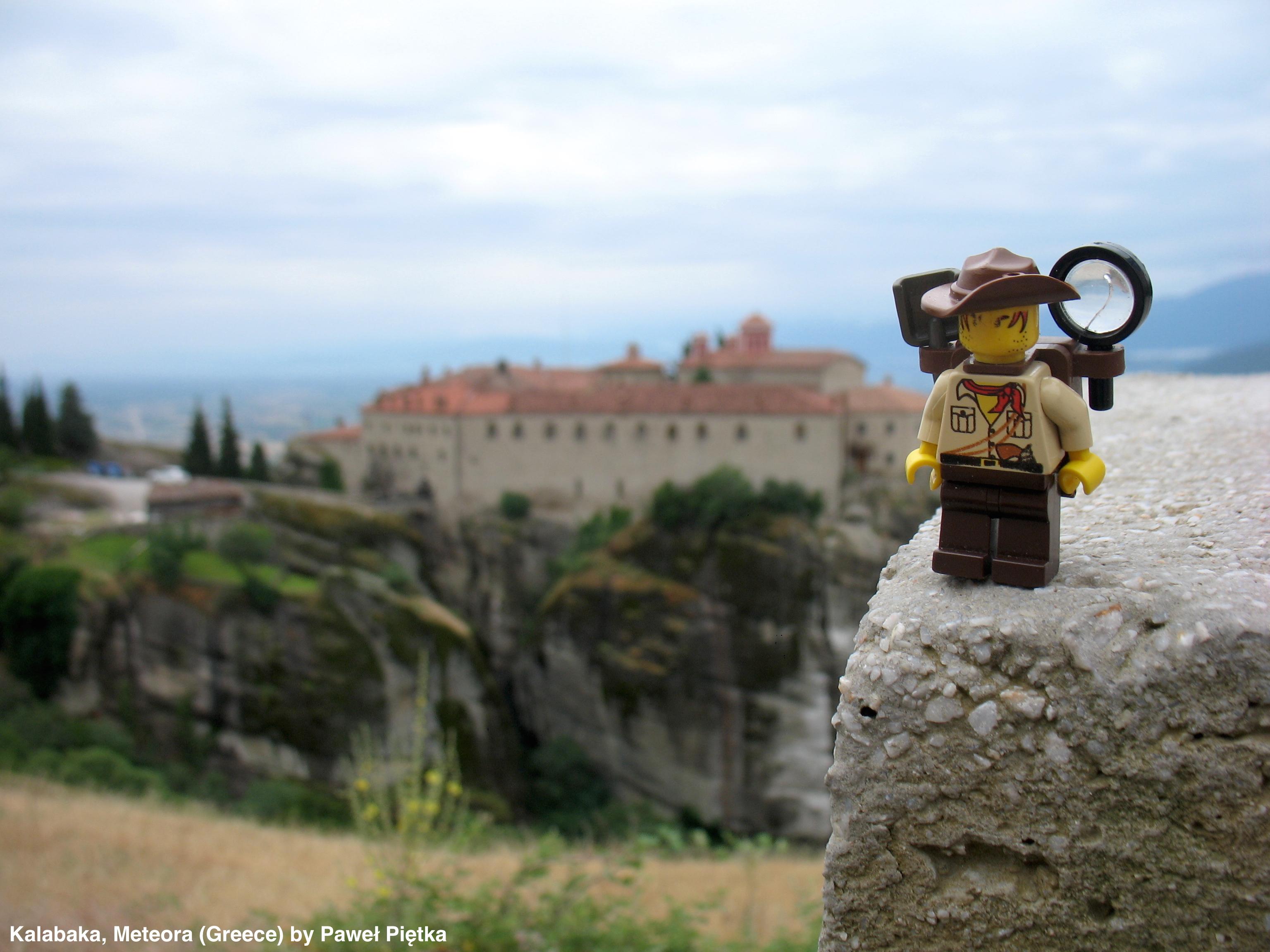 Kalabaka, Meteora (Greece) - Monastery of Saint Stephen