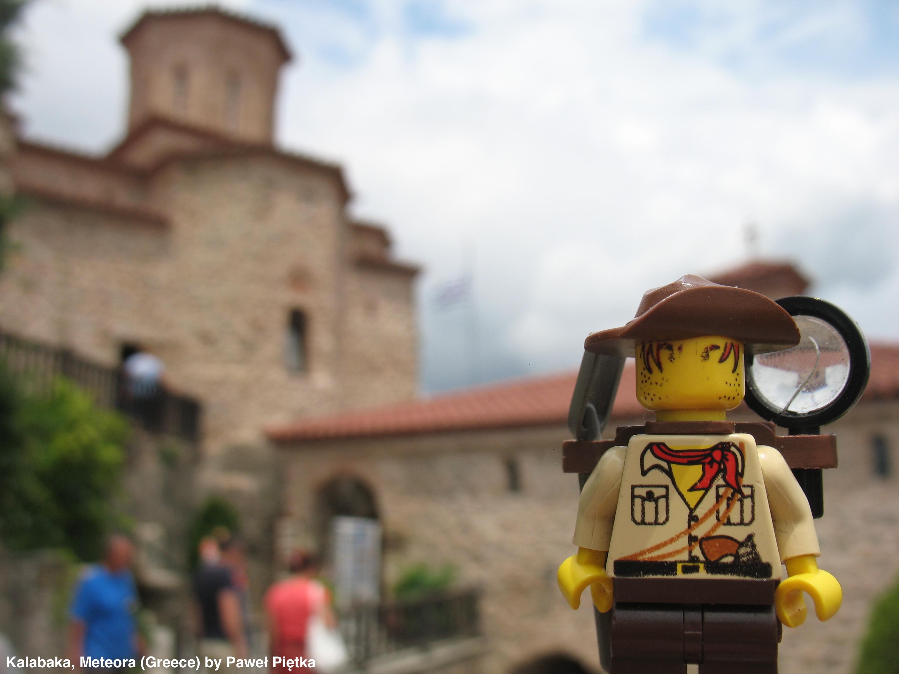 Kalabaka, Meteora (Greece) - Varlaam Monastery