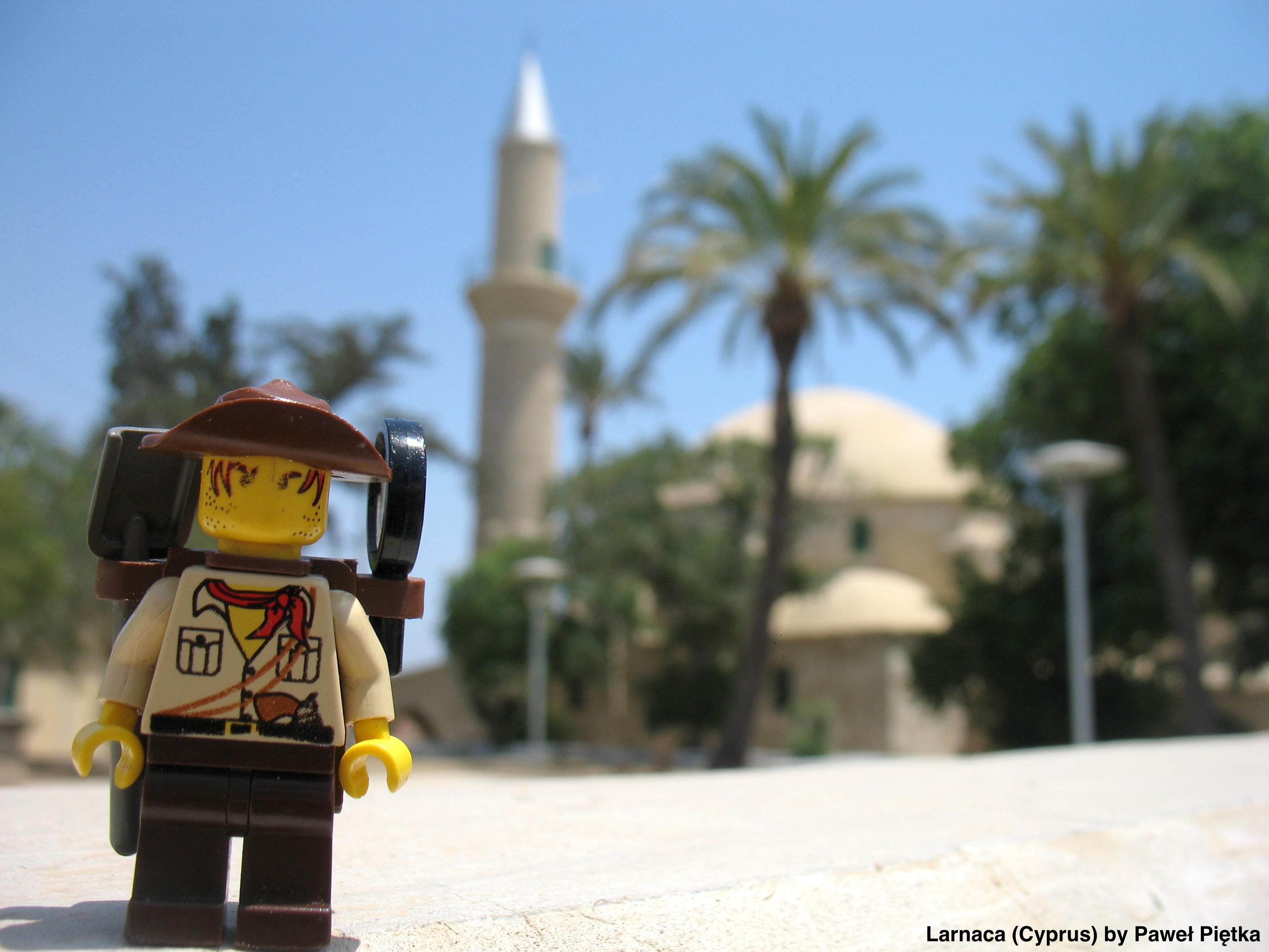 Larnaca (Cyprus) - Hala Sultan Tekke Mosque of Umm Haram
