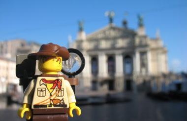 Ukraine: Lviv (Lego & Travel)