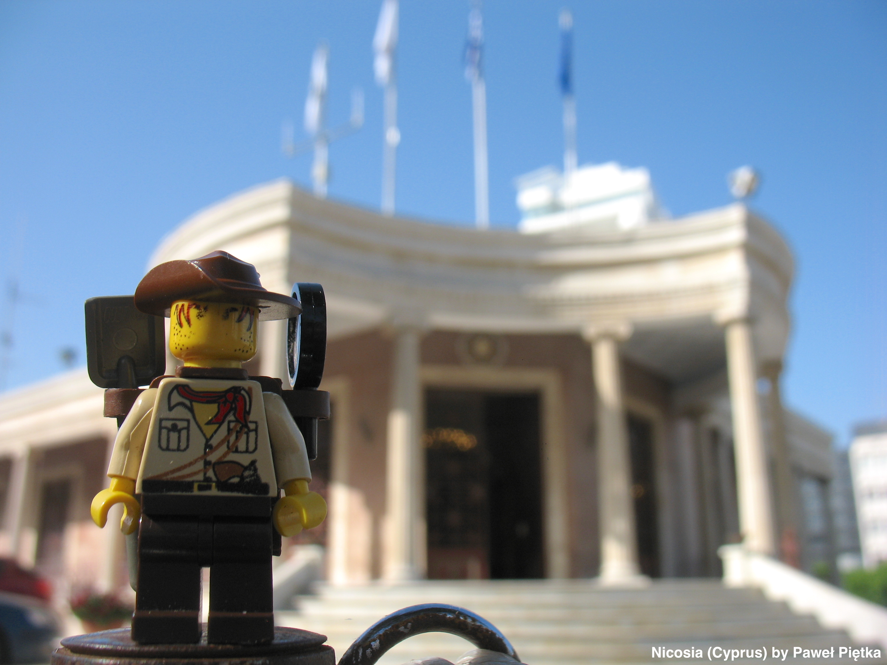 Nicosia (Cyprus) - Municipality building Eleftheria Square