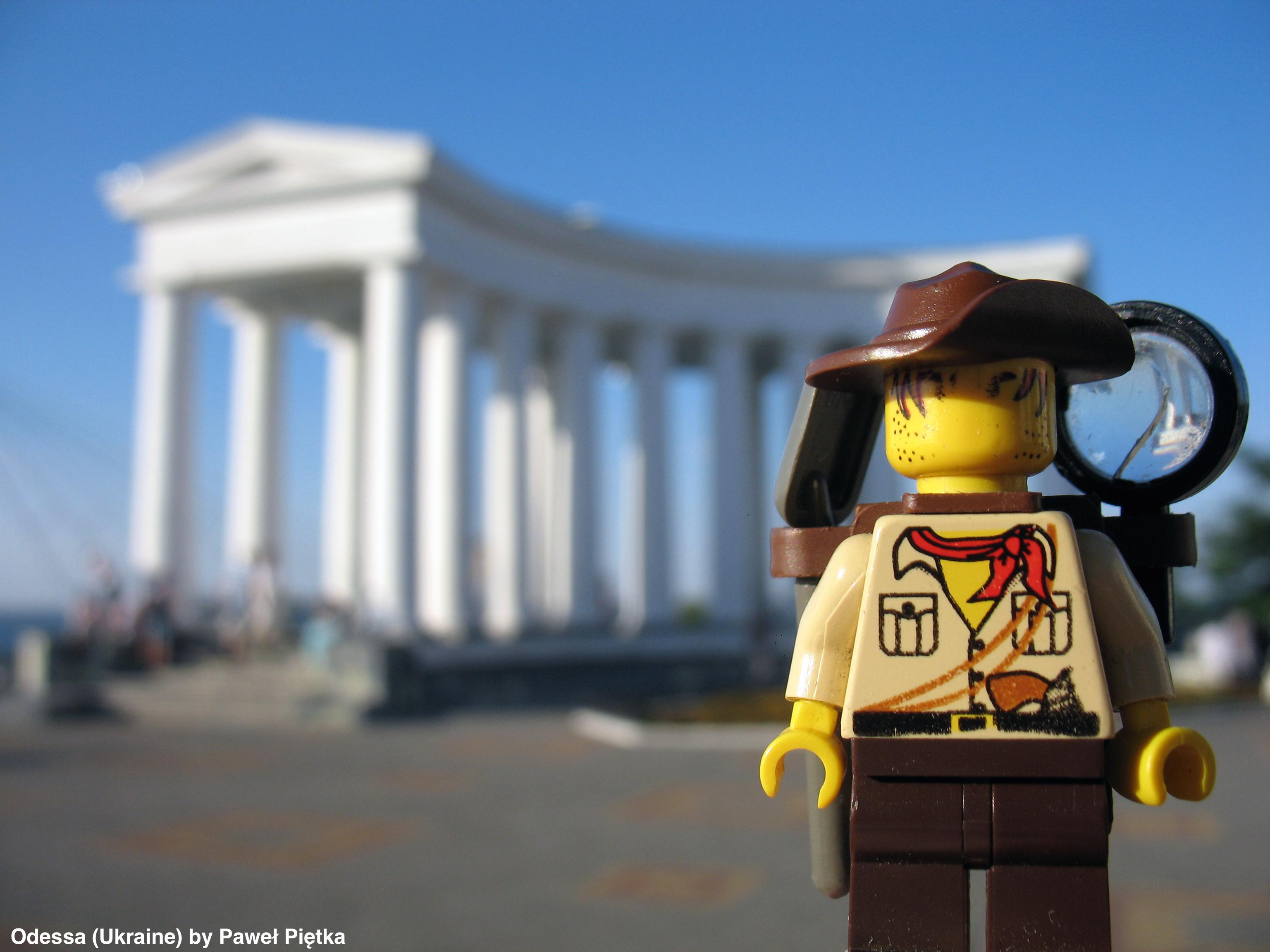 Odessa (Ukraine) - Colonnade Vorontsov Palace