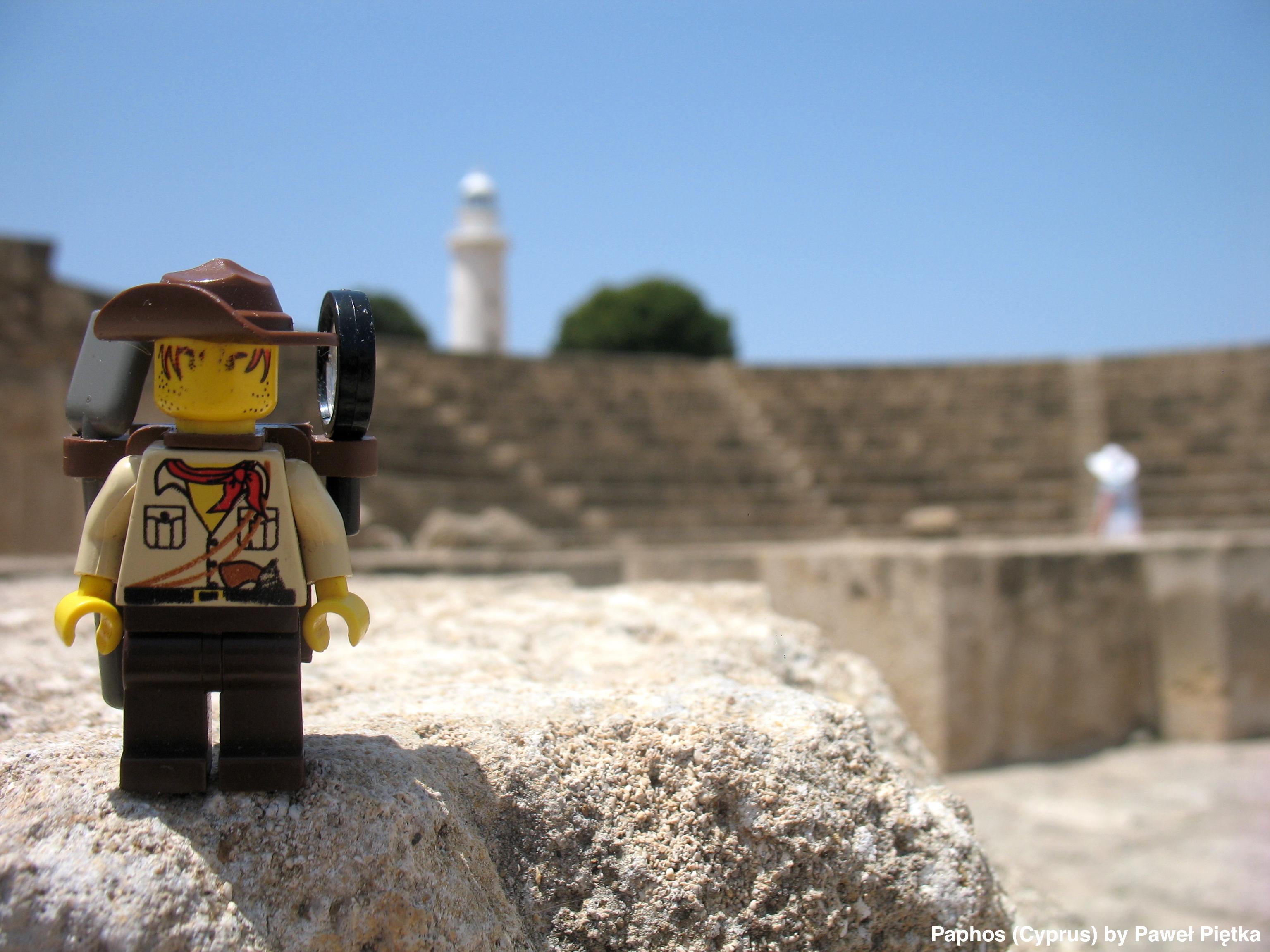 Paphos (Cyprus) - Odeon Amphitheatre