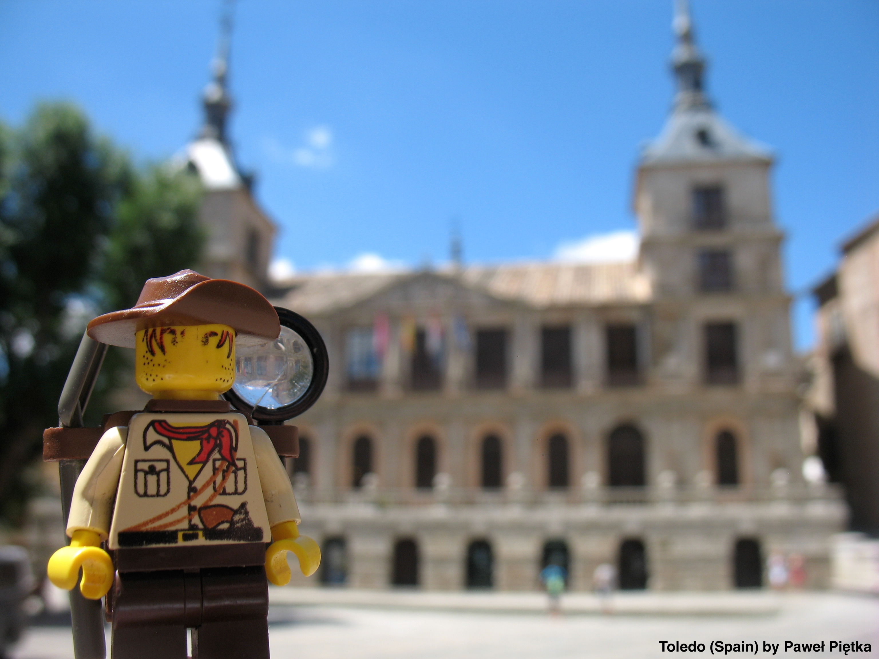 Toledo (Spain) - Town Hall in Plaza del Consistorio