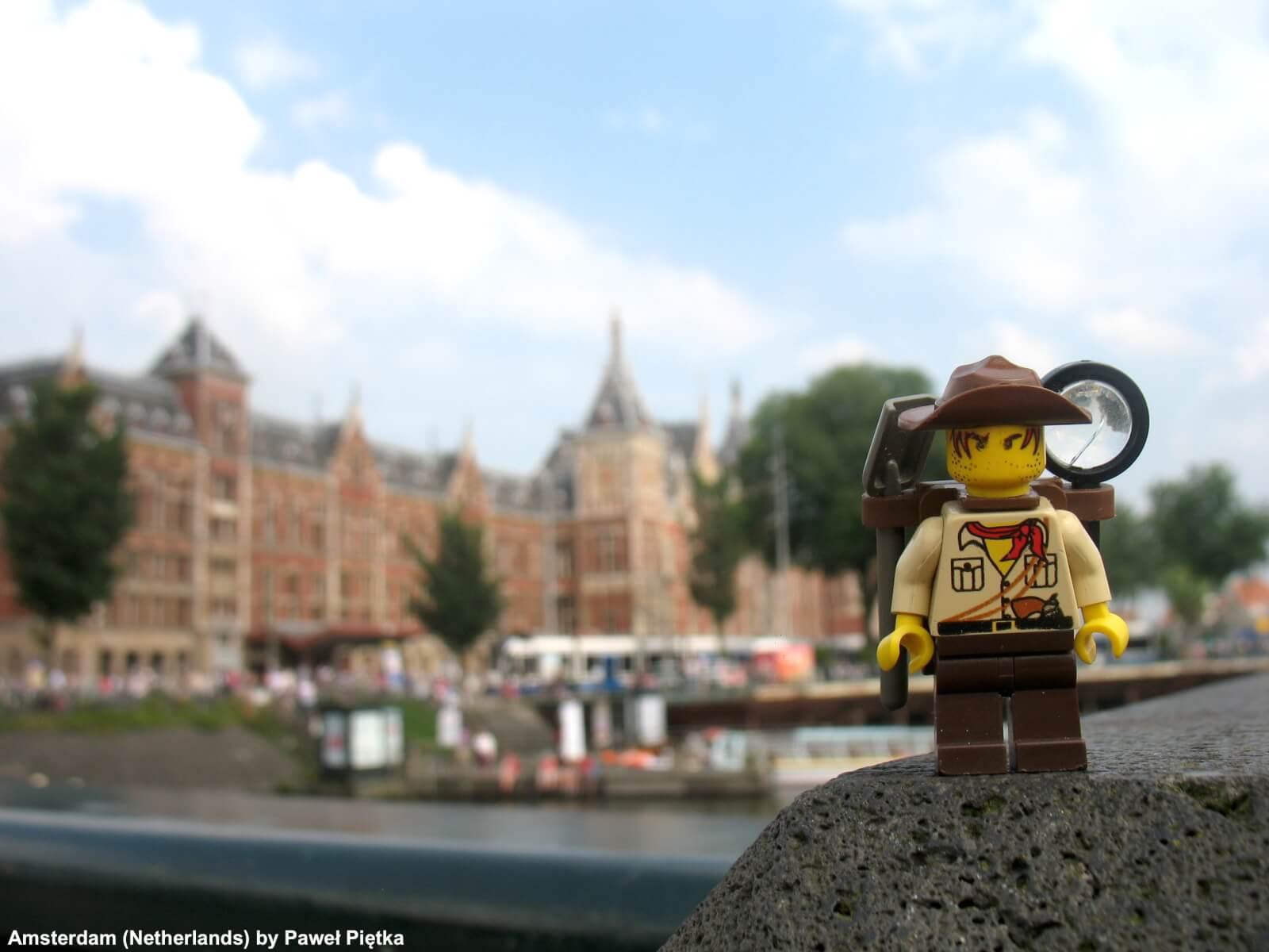 Amsterdam (Netherlands) - Amsterdam Centraal railway station