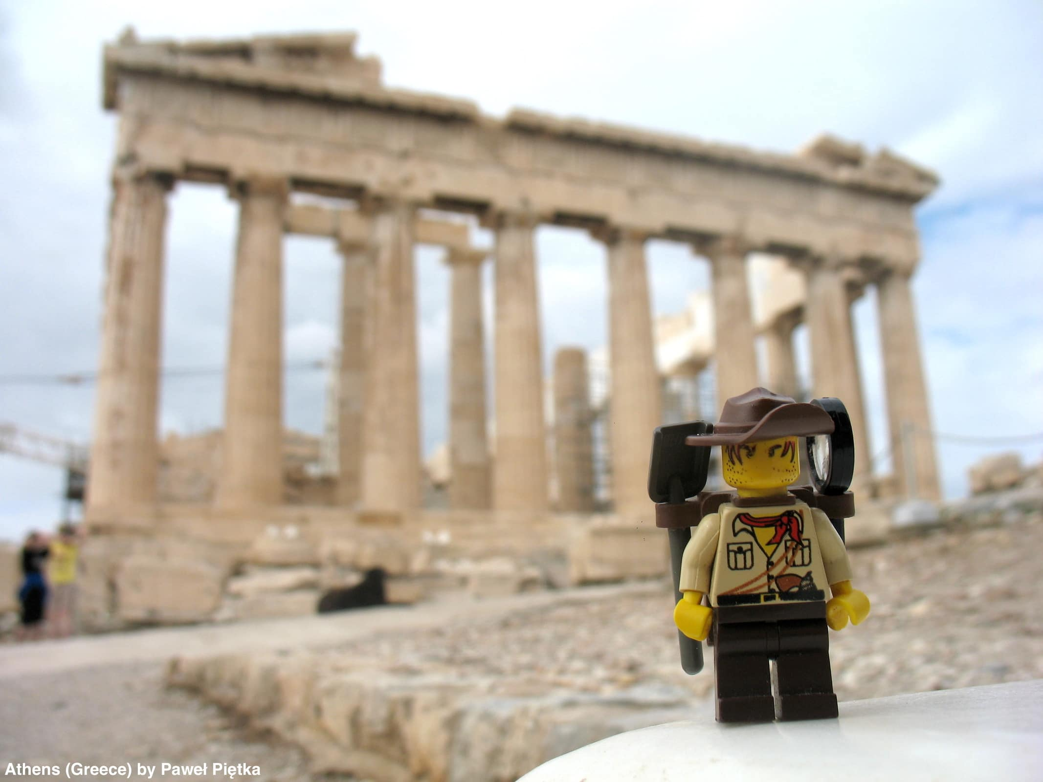 Athens (Greece) - Acropolis, Parthenon