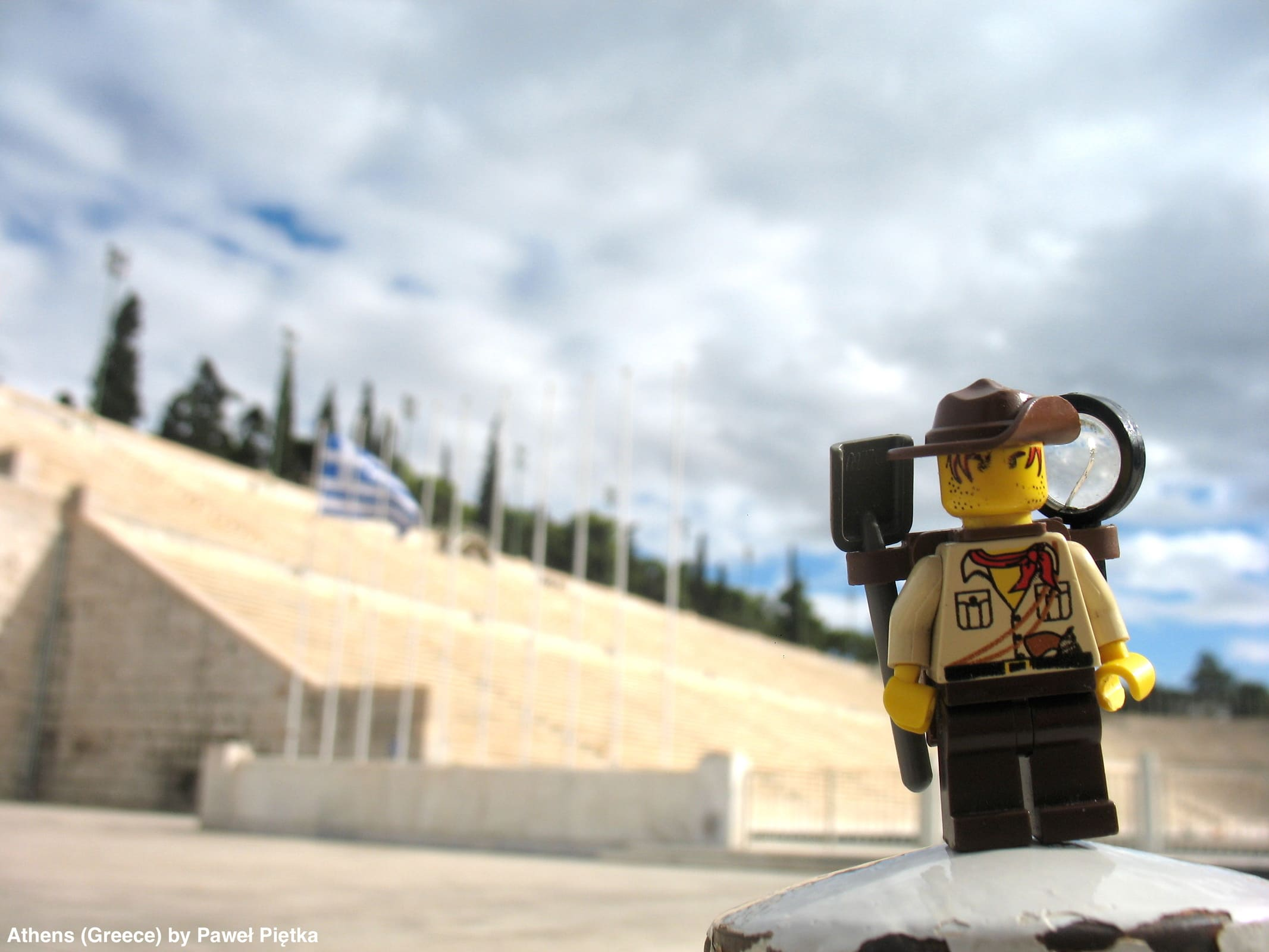Athens (Greece) - Panathenaic Stadium Kallimarmaron