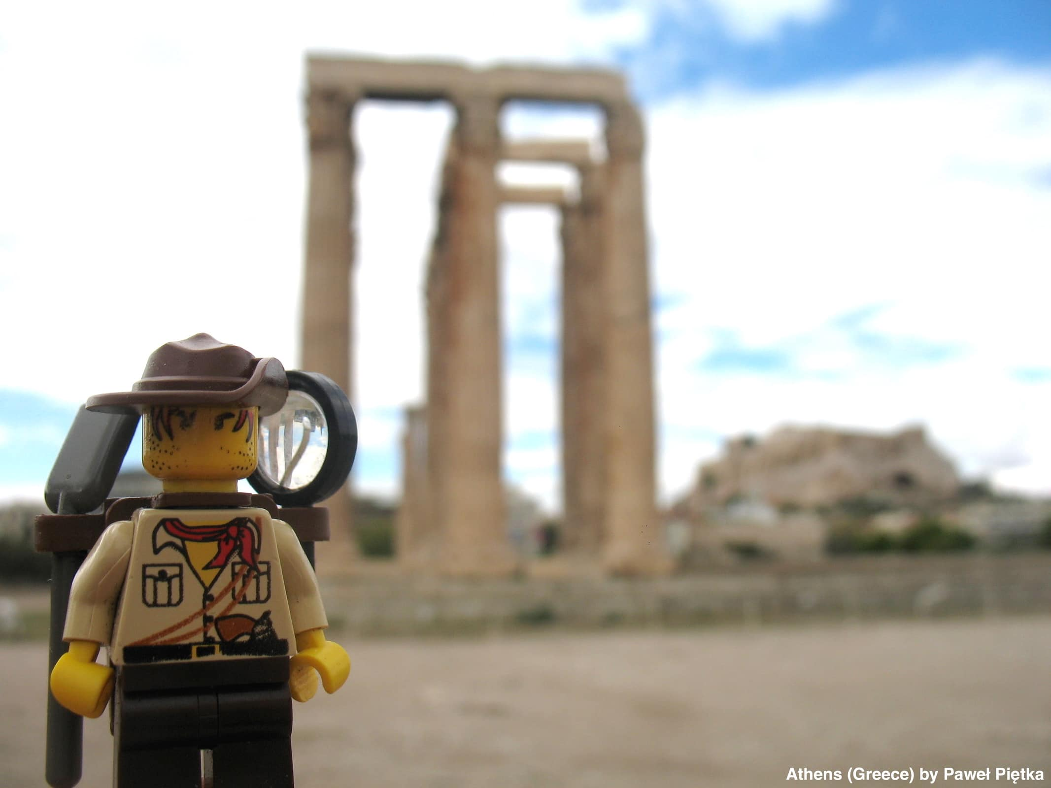 Athens (Greece) - Temple of Olympian Zeus