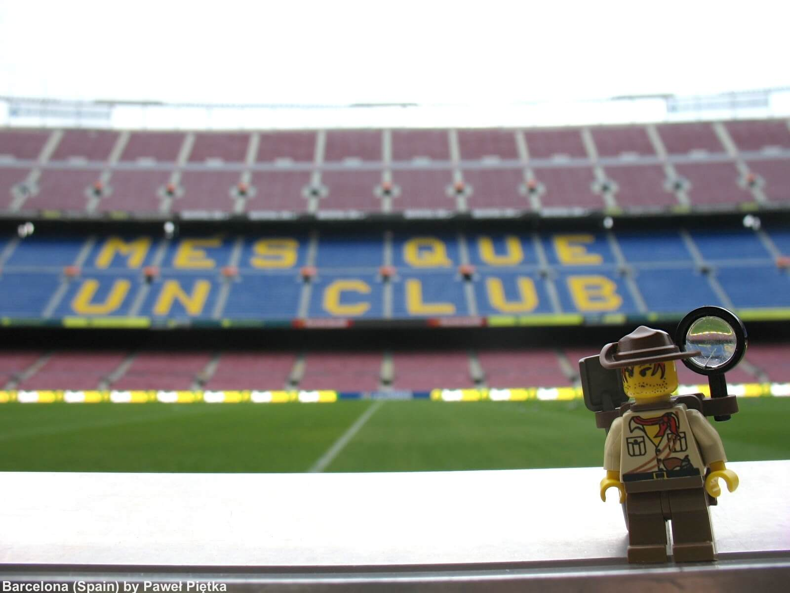 Barcelona (Spain) - Camp Nou 1