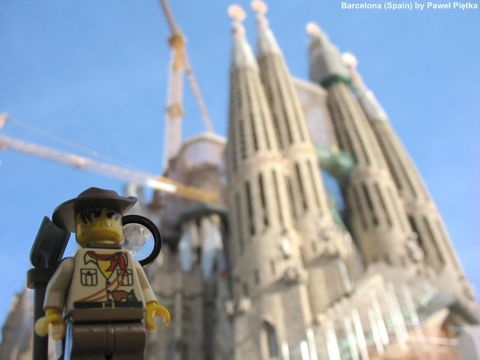 Barcelona (Spain) - Sagrada Familia