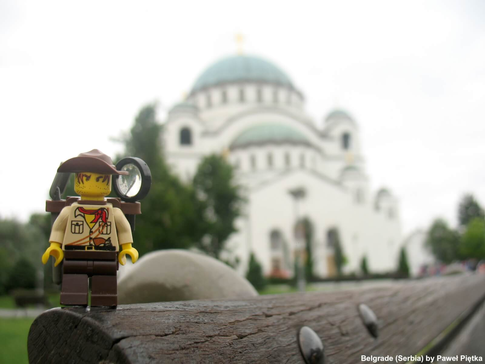 Belgrade (Serbia) - Church of Saint Sava