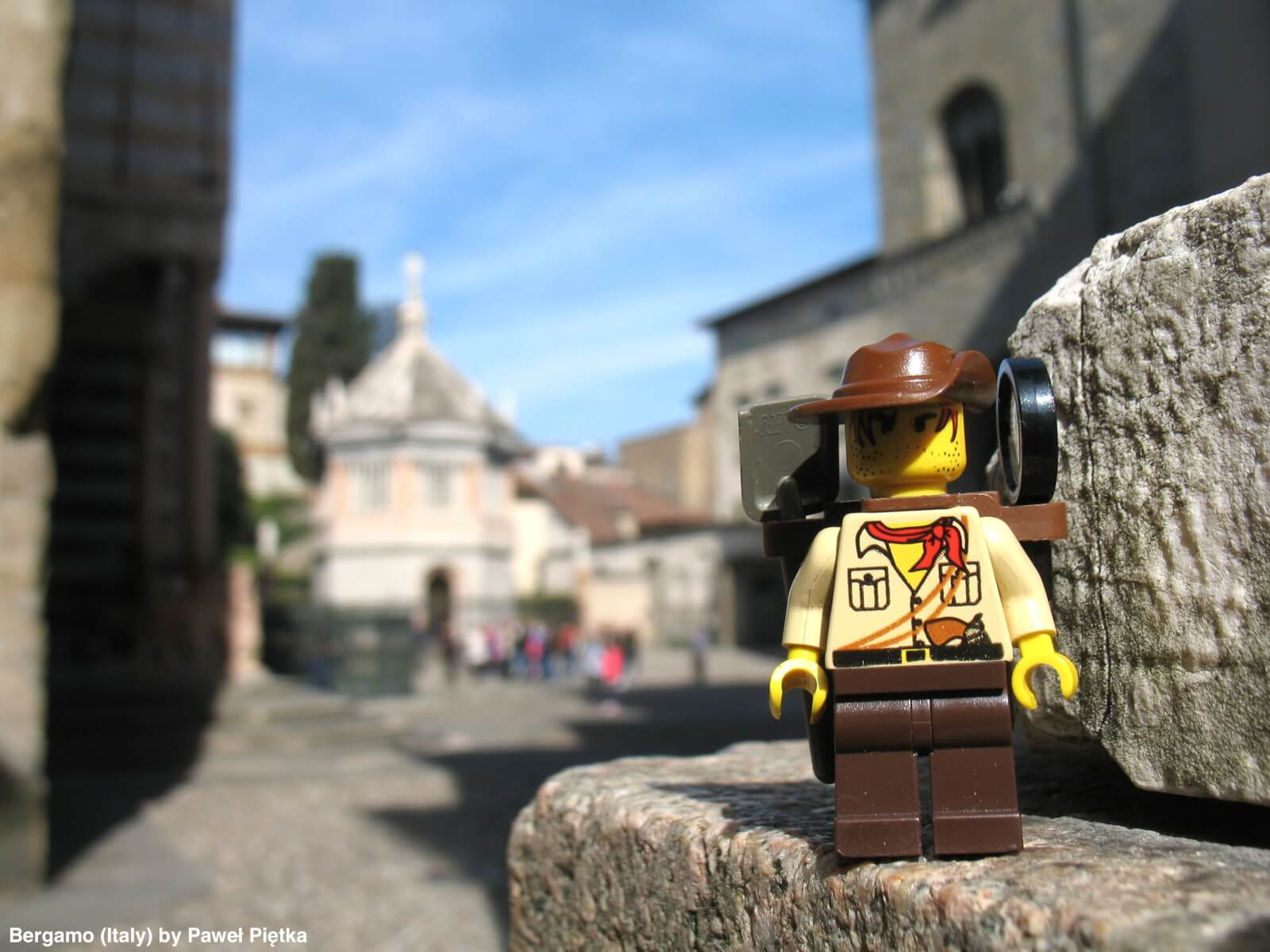 Bergamo (Italy) - Piazza Duomo