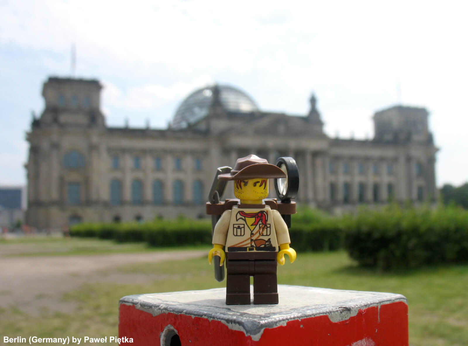 Berlin (Germany) - Reichstag Parliament