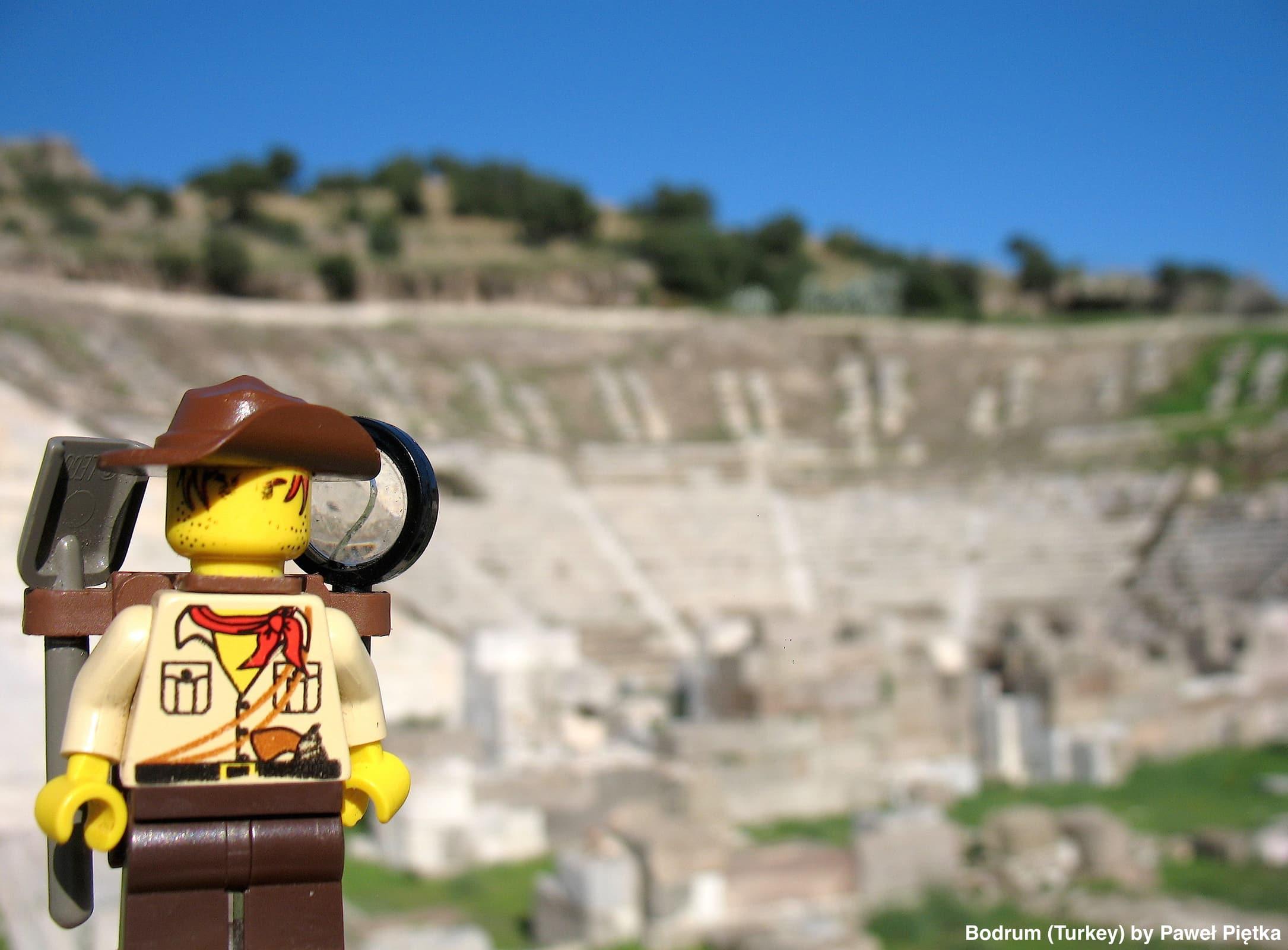 Bodrum (Turkey) - Theatre of Halicarnassus