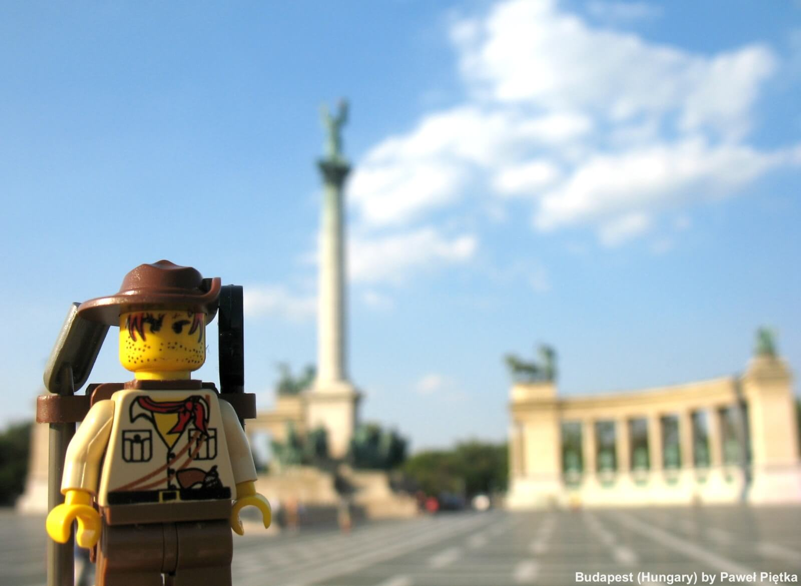 Budapest (Hungary) - Heroes' Square