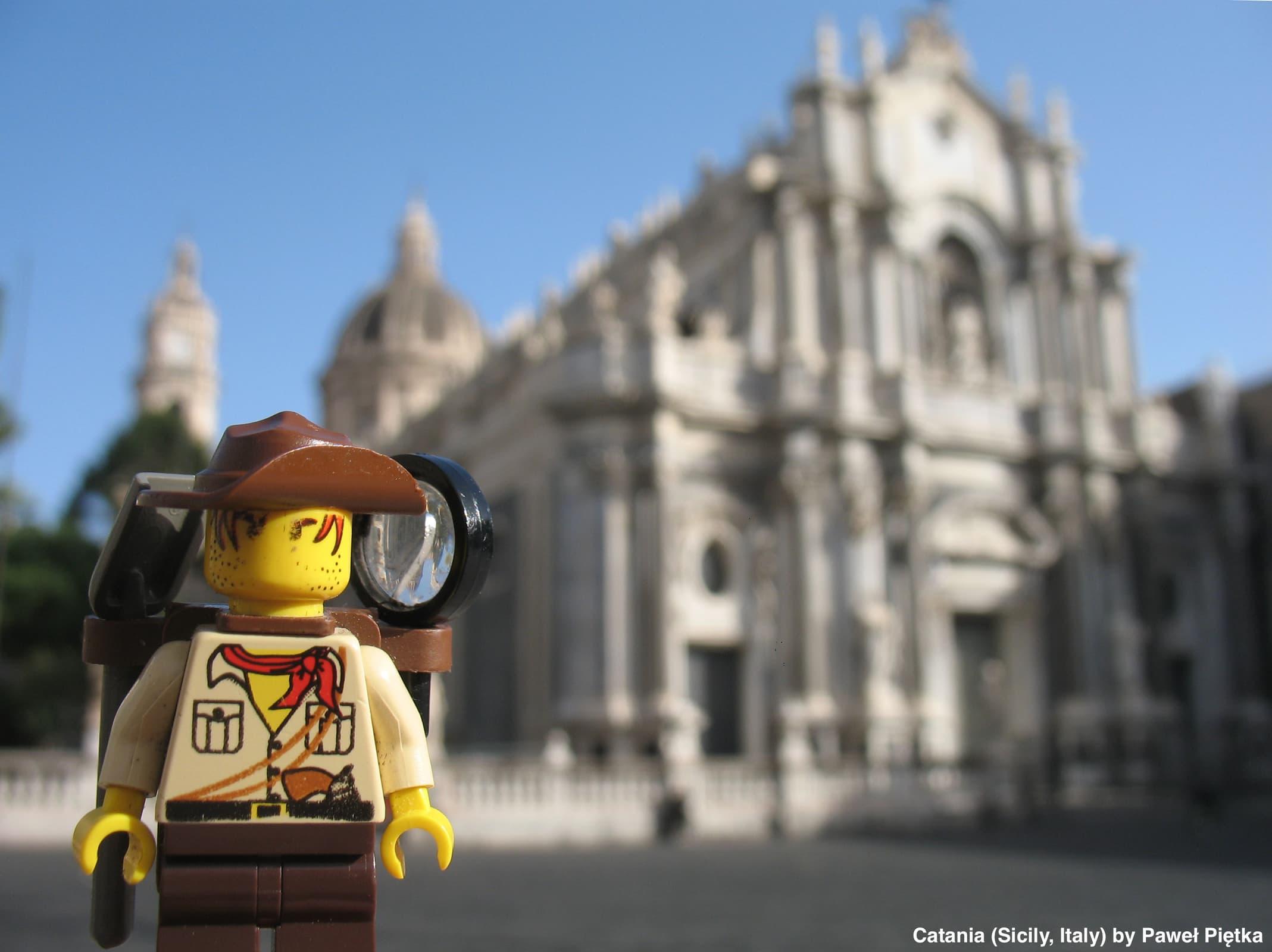 Catania (Sicily, Italy) - Duomo Cathedral St Agatha