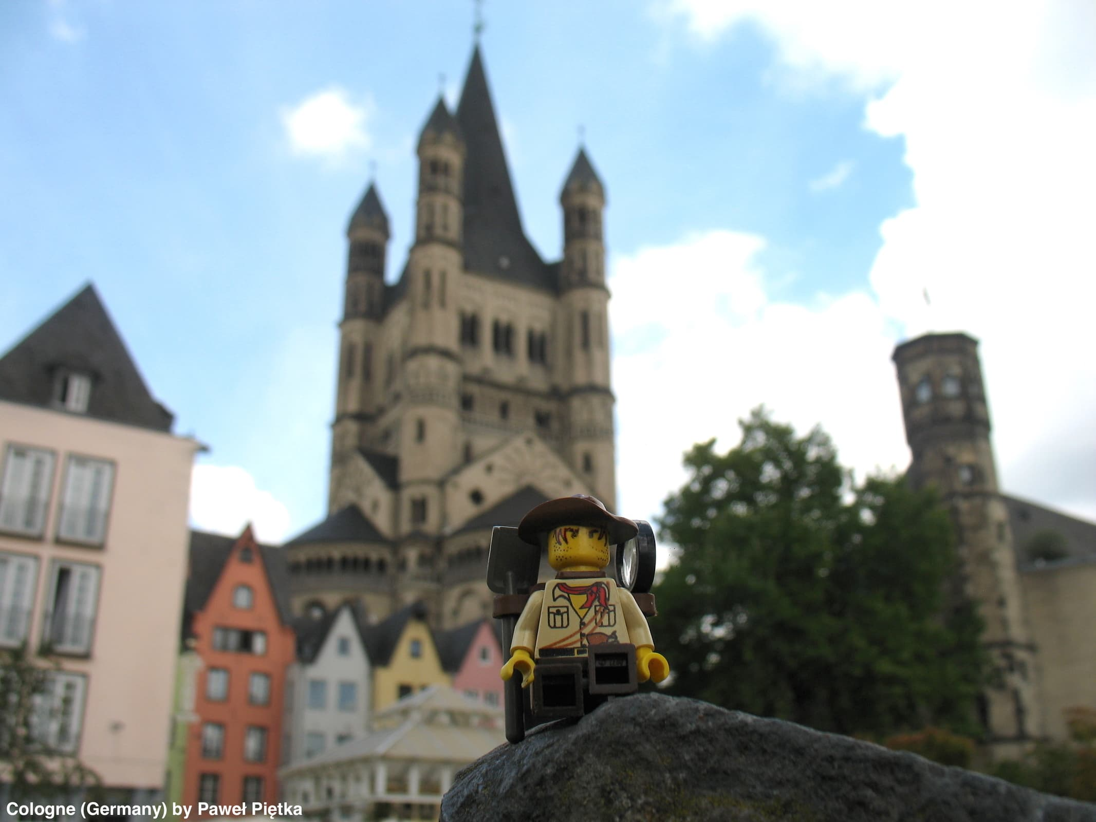 Cologne (Germany) - Great St Martin Church