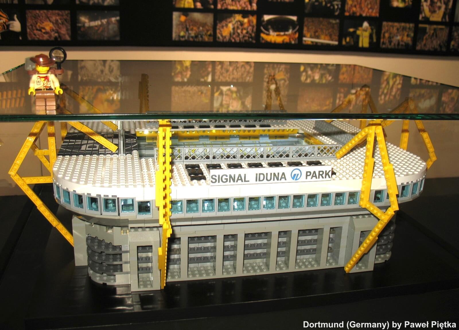 Dortmund (Germany) - Westfalenstadion LEGO