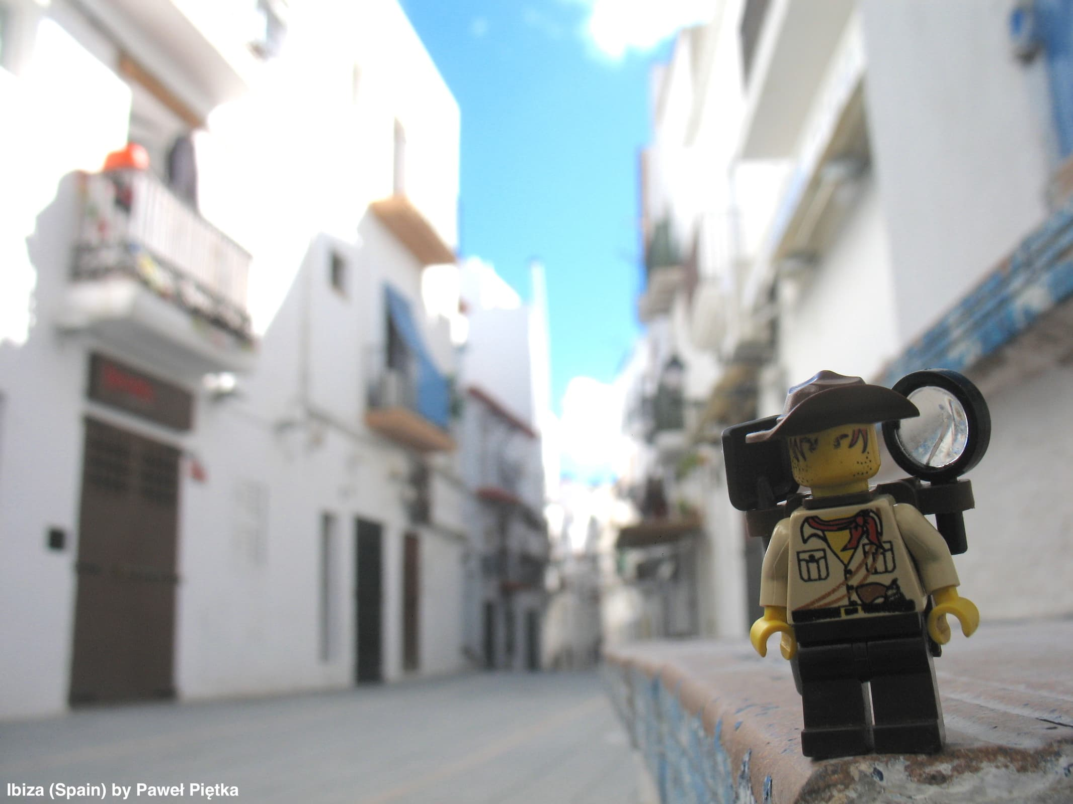 Ibiza (Spain) - Old city of Ibiza Town 2