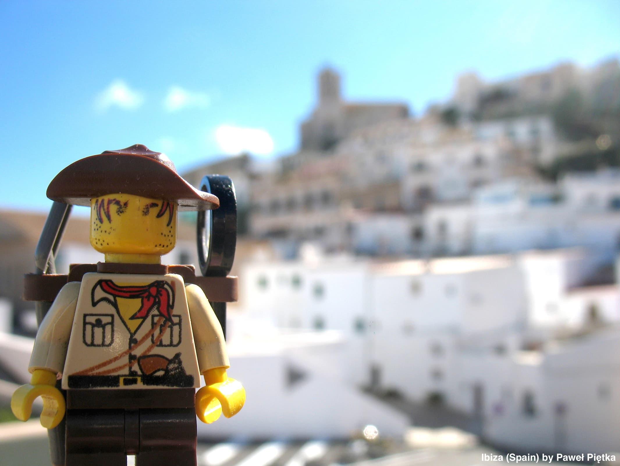 Ibiza (Spain) - Old city of Ibiza Town