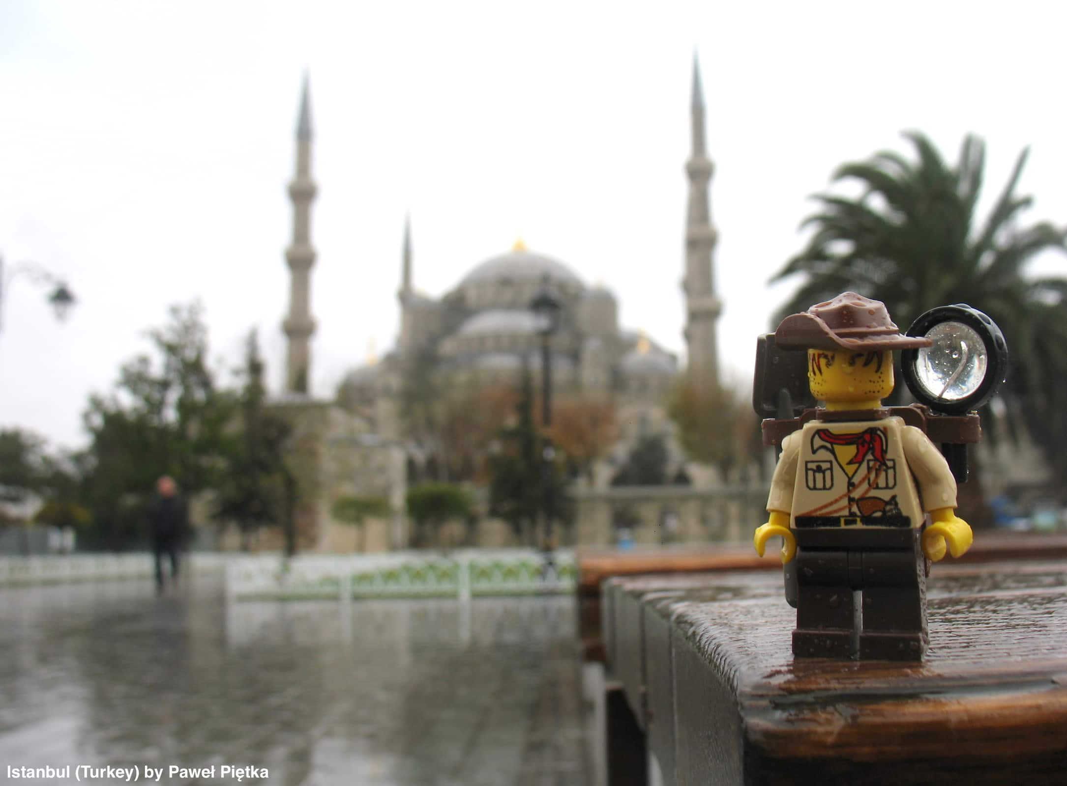 Istanbul (Turkey) - Blue Mosque Sultan Ahmed