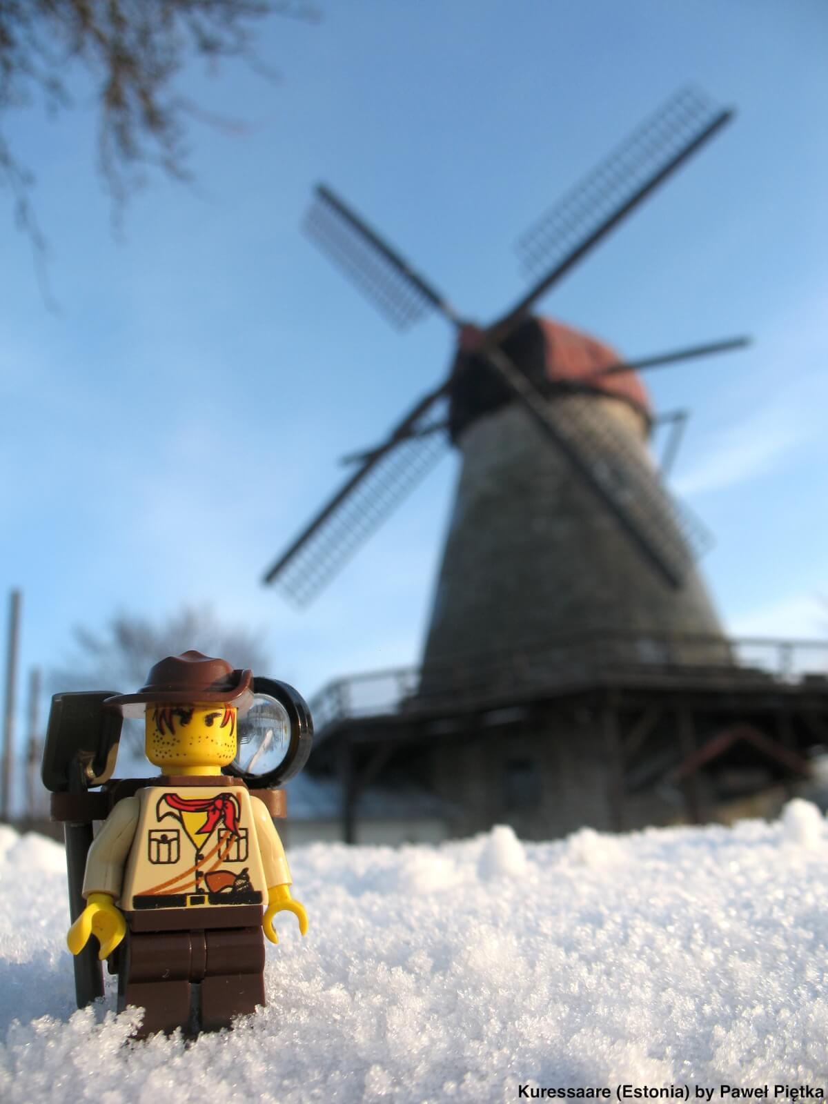 Kuressaare (Estonia) - Windmill tavern