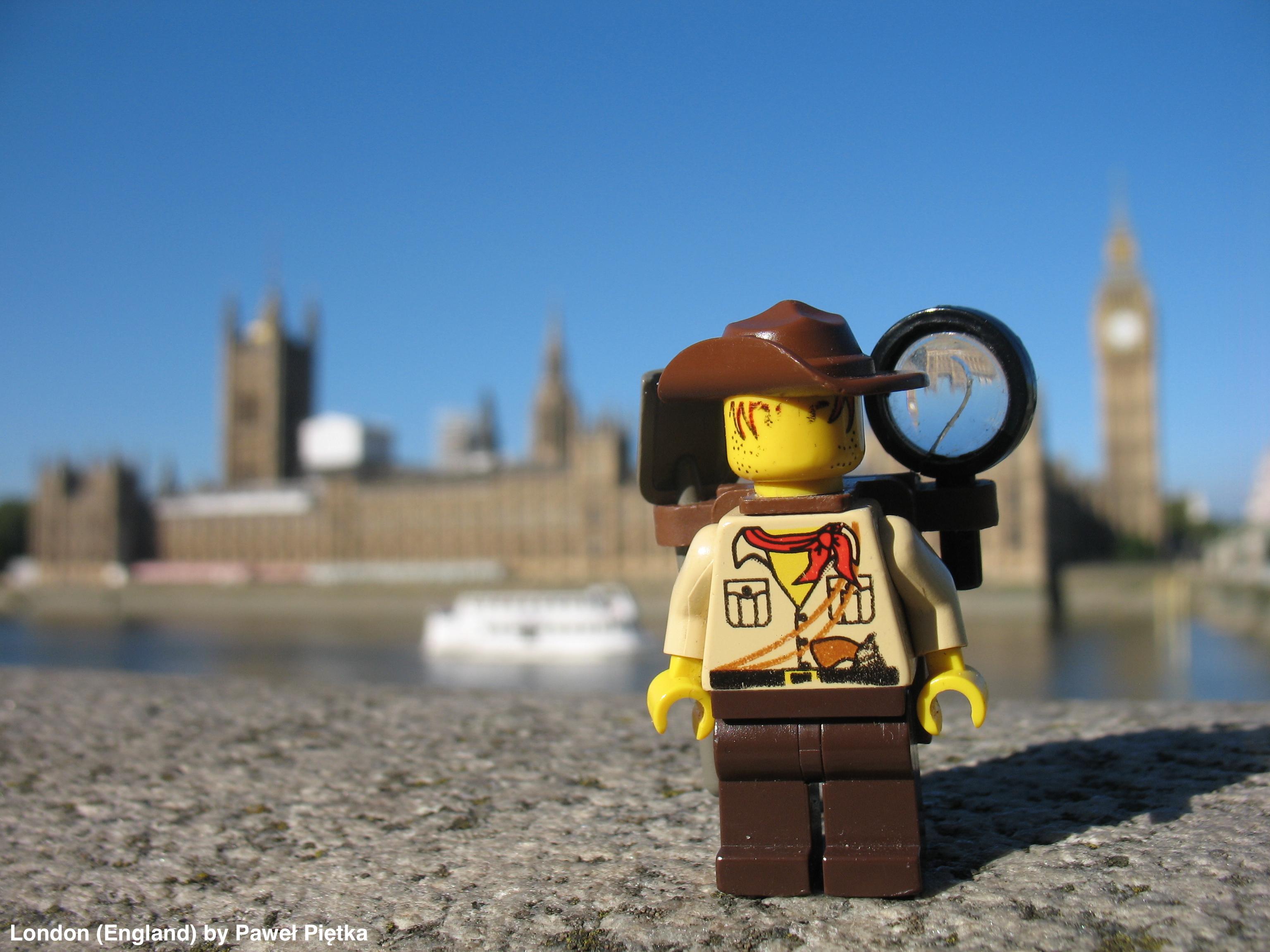 London (England) - Palace of Westminster Big Ben