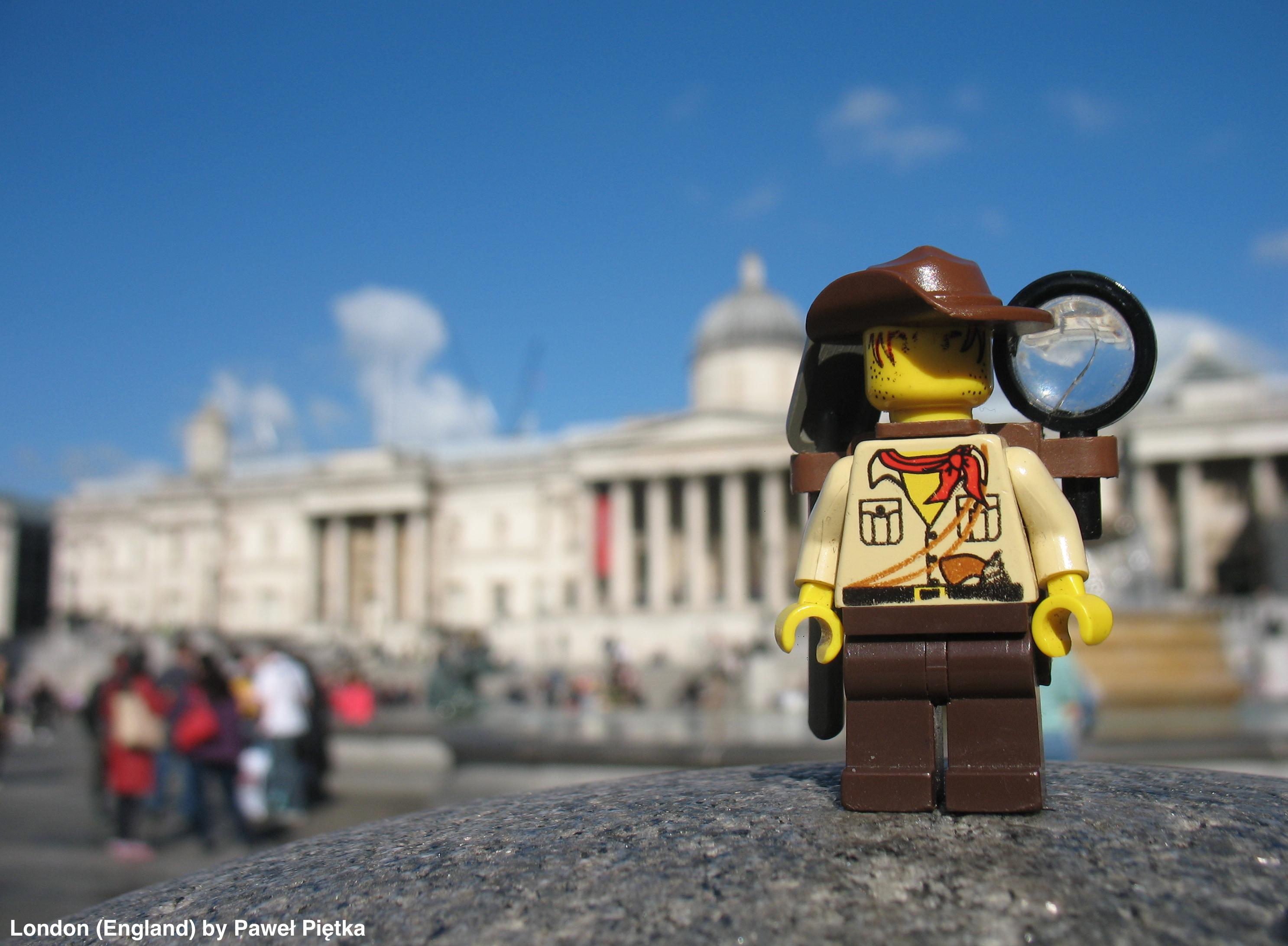 London (England) - Trafalgar Square National Gallery