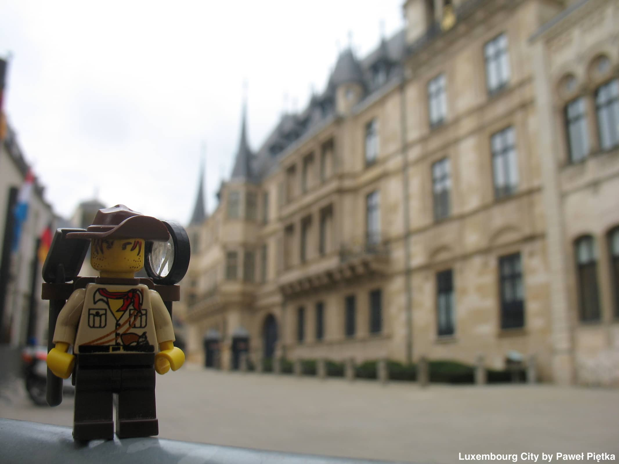 Luxembourg City - Grand Ducal Palace