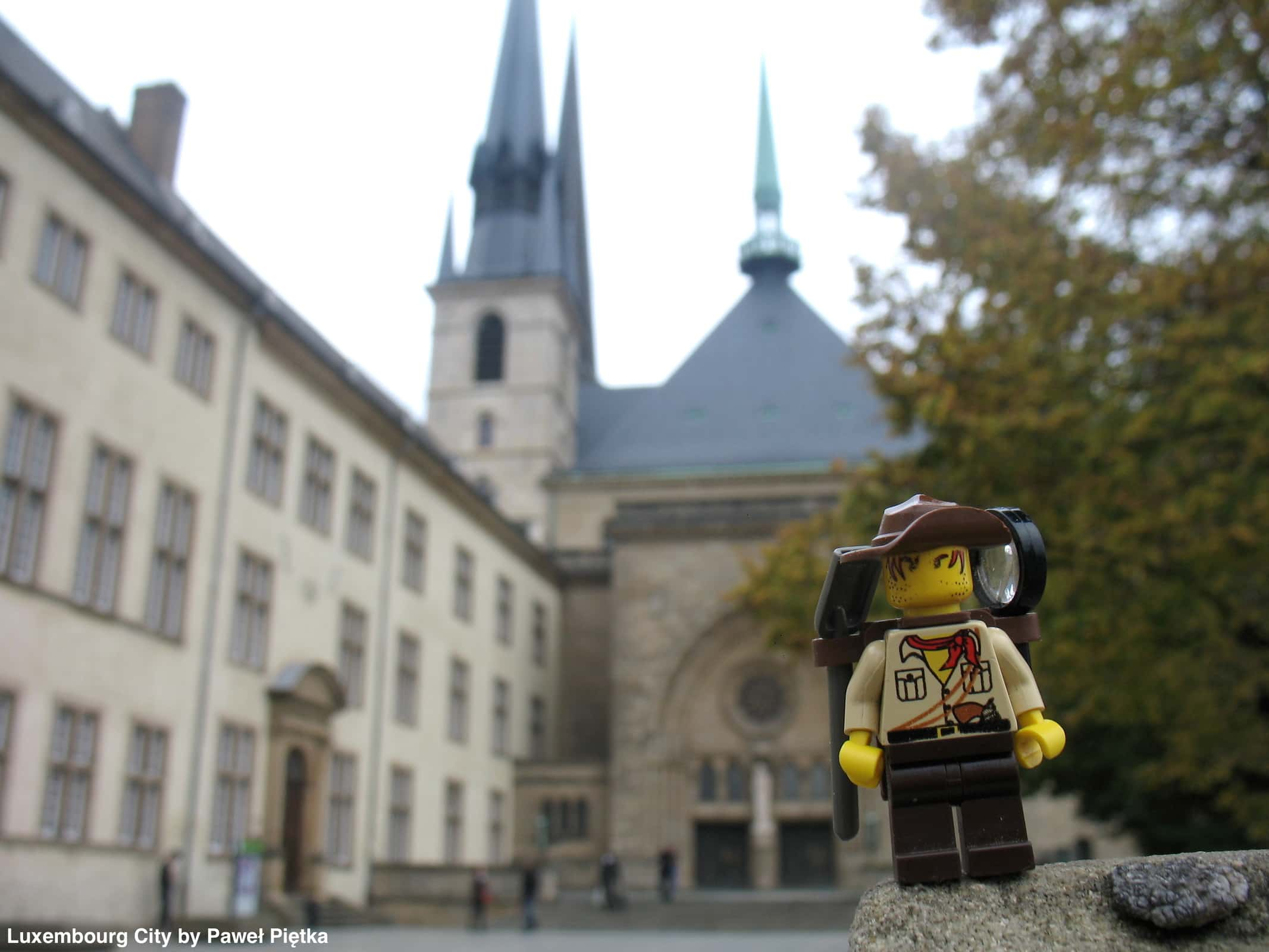 Luxembourg City - Notre Dame Cathedral