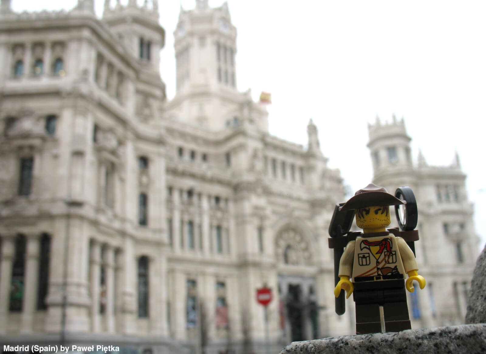 Madrid (Spain) - Cibeles Palace