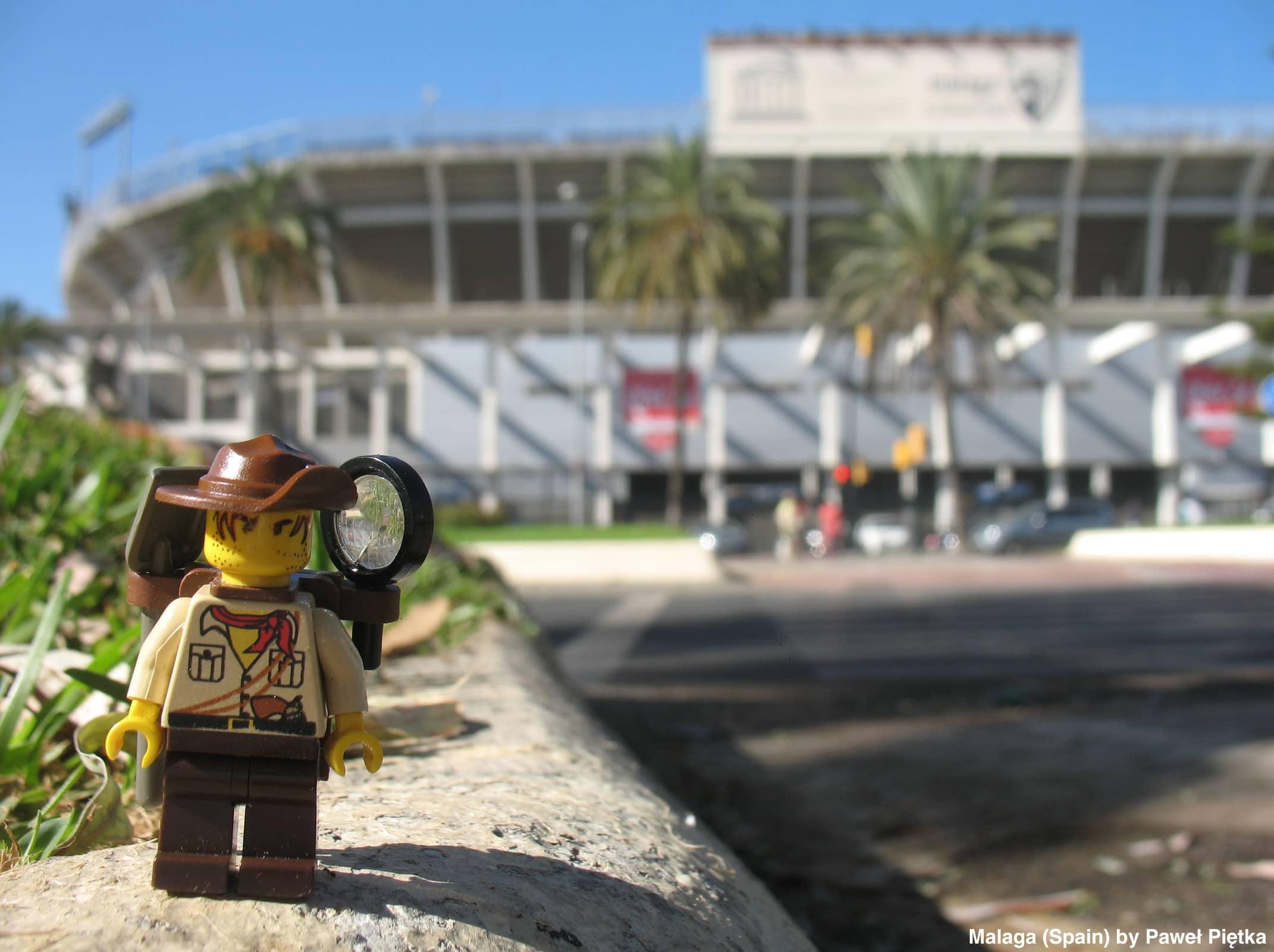 Malaga (Spain) - La Rosaleda stadium