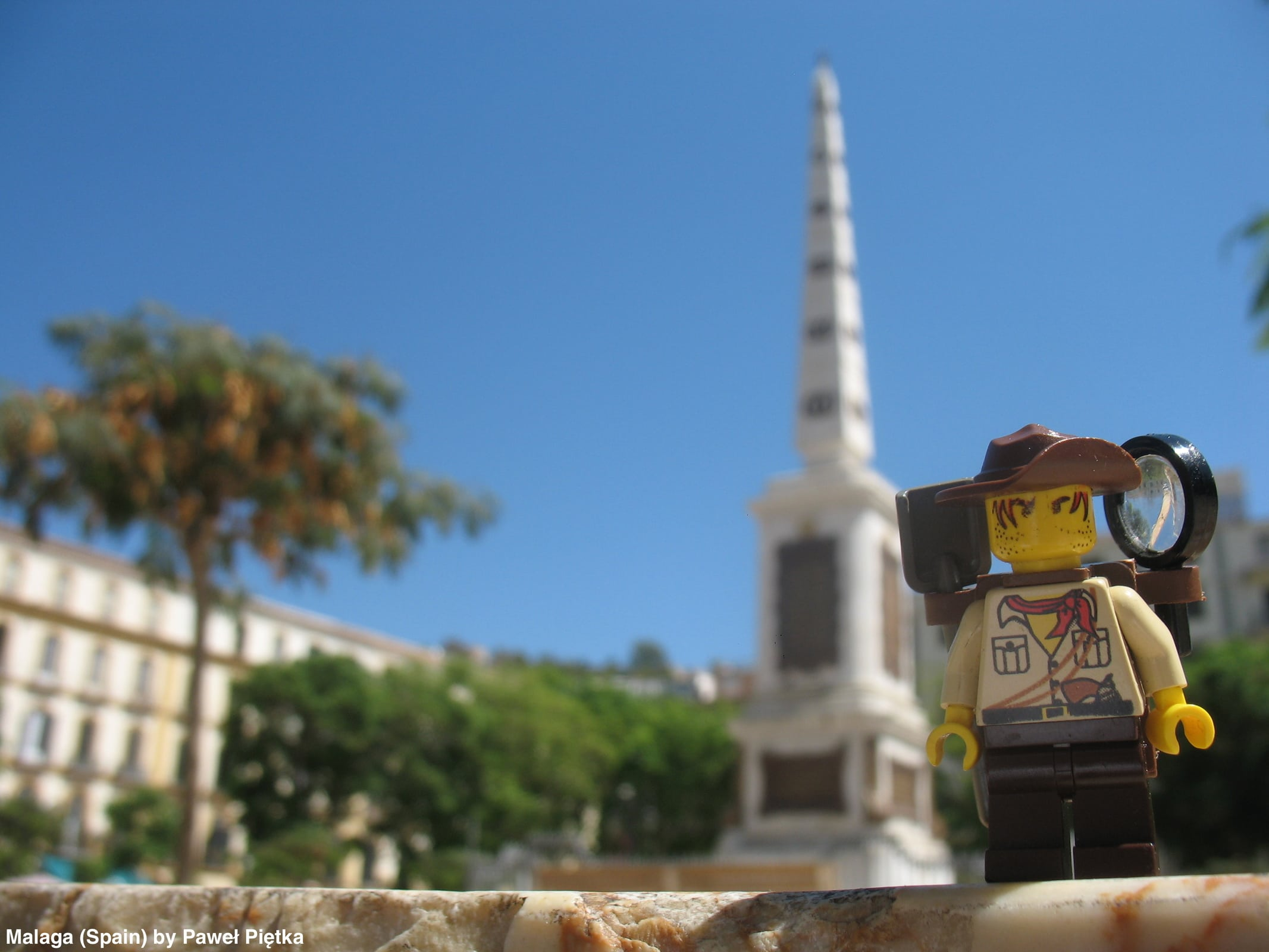 Malaga (Spain) - Plaza de La Merced