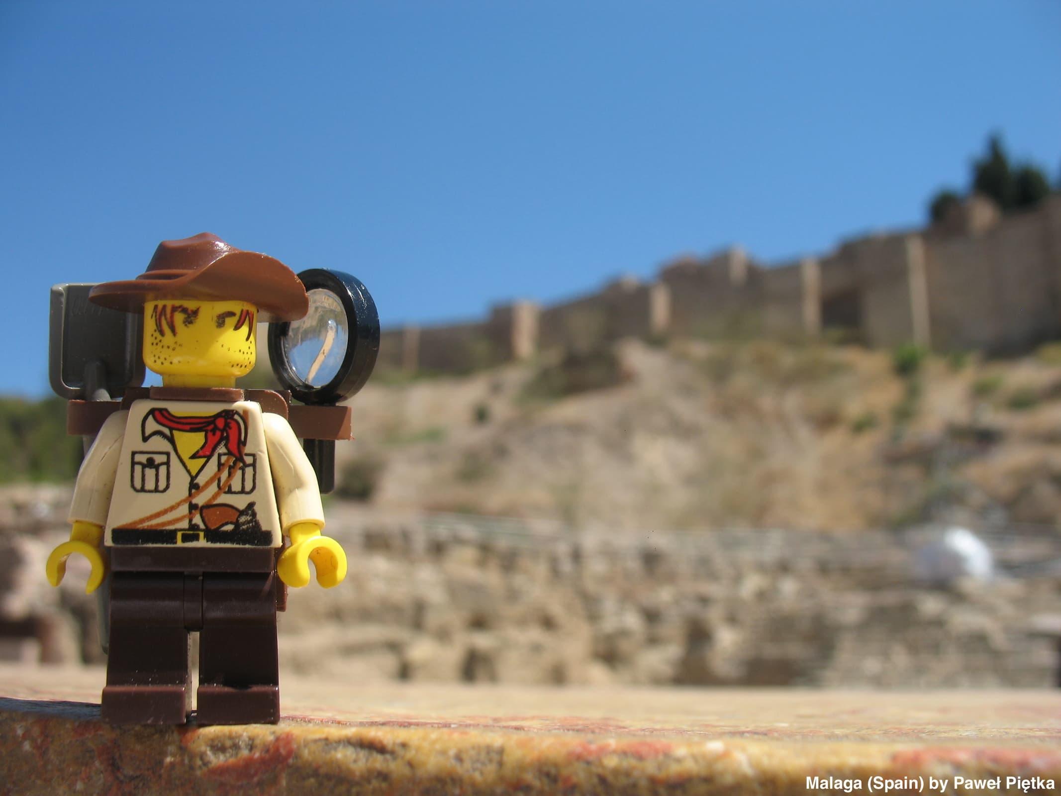 Malaga (Spain) - Roman theatre and Alcazaba