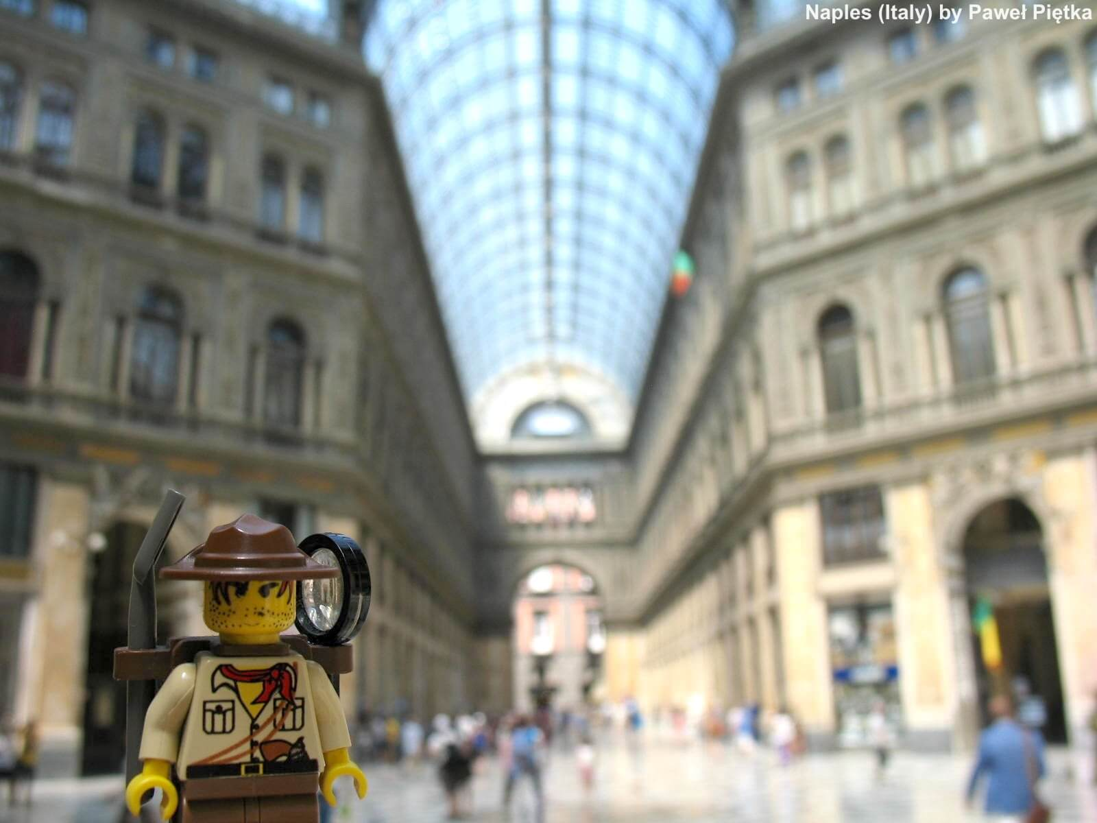 Naples (Italy) - Galleria Umberto I