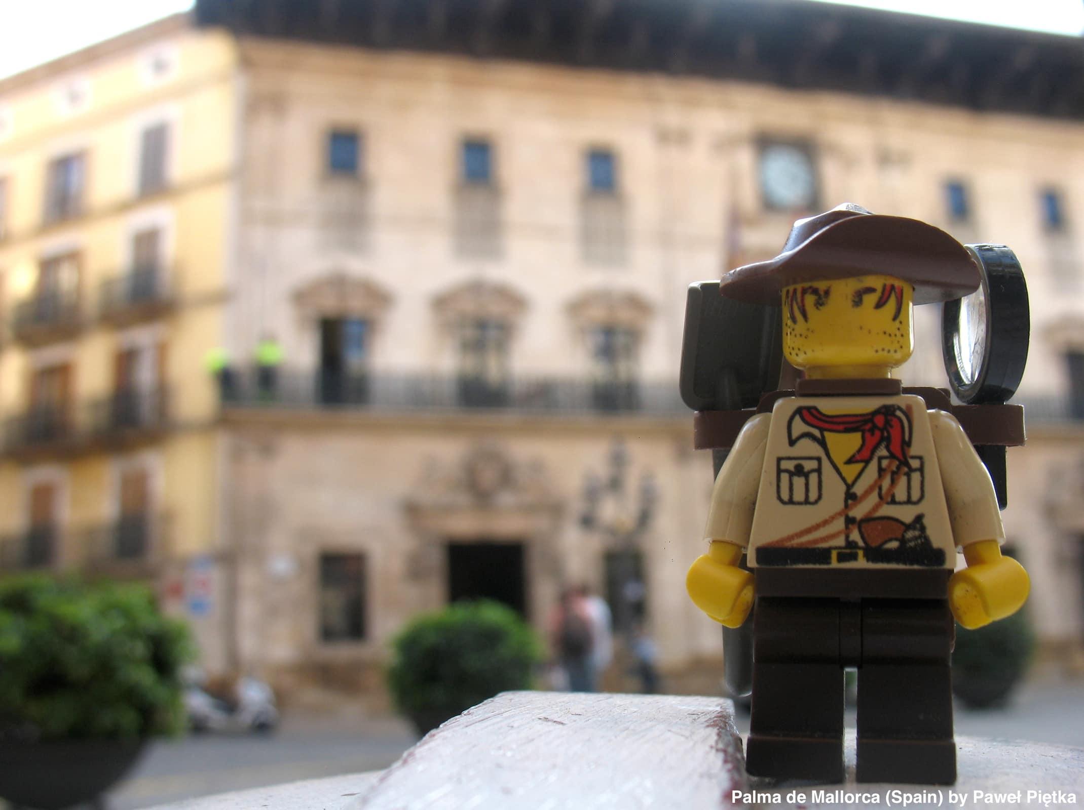 Palma de Mallorca (Spain) - City council of Palma