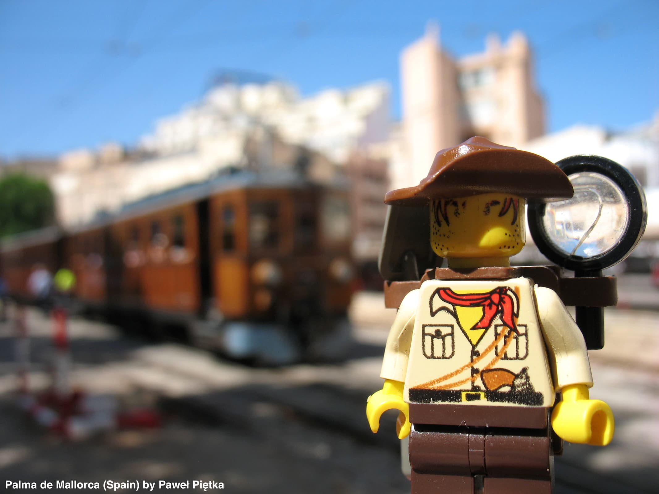 Palma de Mallorca (Spain) - Ferrocarril de Soller