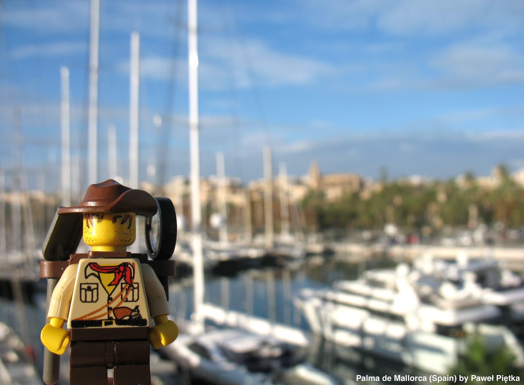 Palma de Mallorca (Spain) - Harbour of Palma 2