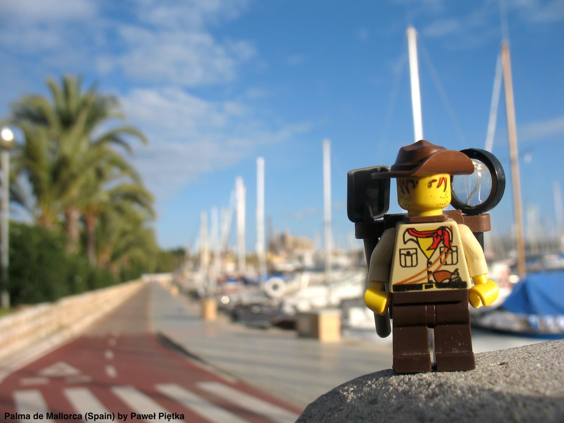 Palma de Mallorca (Spain) - Harbour of Palma