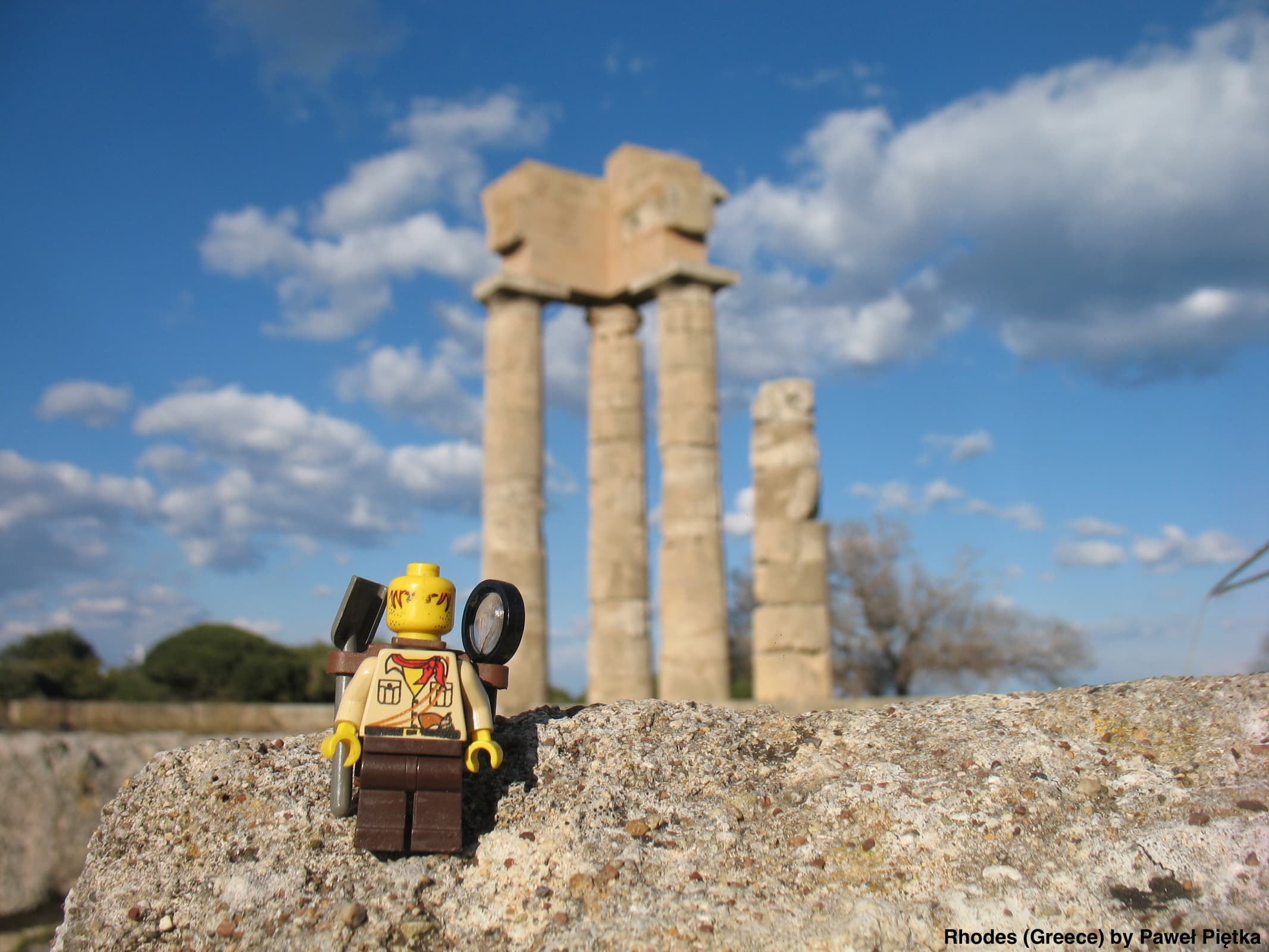 Rhodes (Greece) - Acropolis of Rhodes, Temple of Apollo