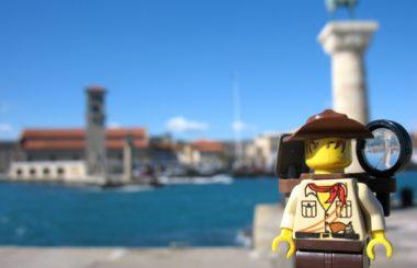 Greece: Rhodes (Lego & Travel)