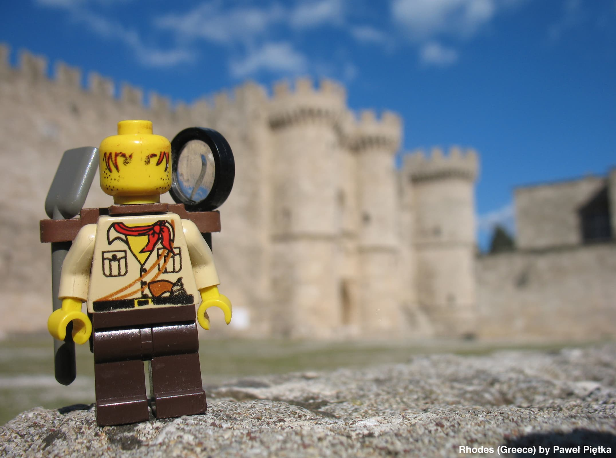 Rhodes (Greece) - Palace of the Grand Master of the Knights of Rhodes