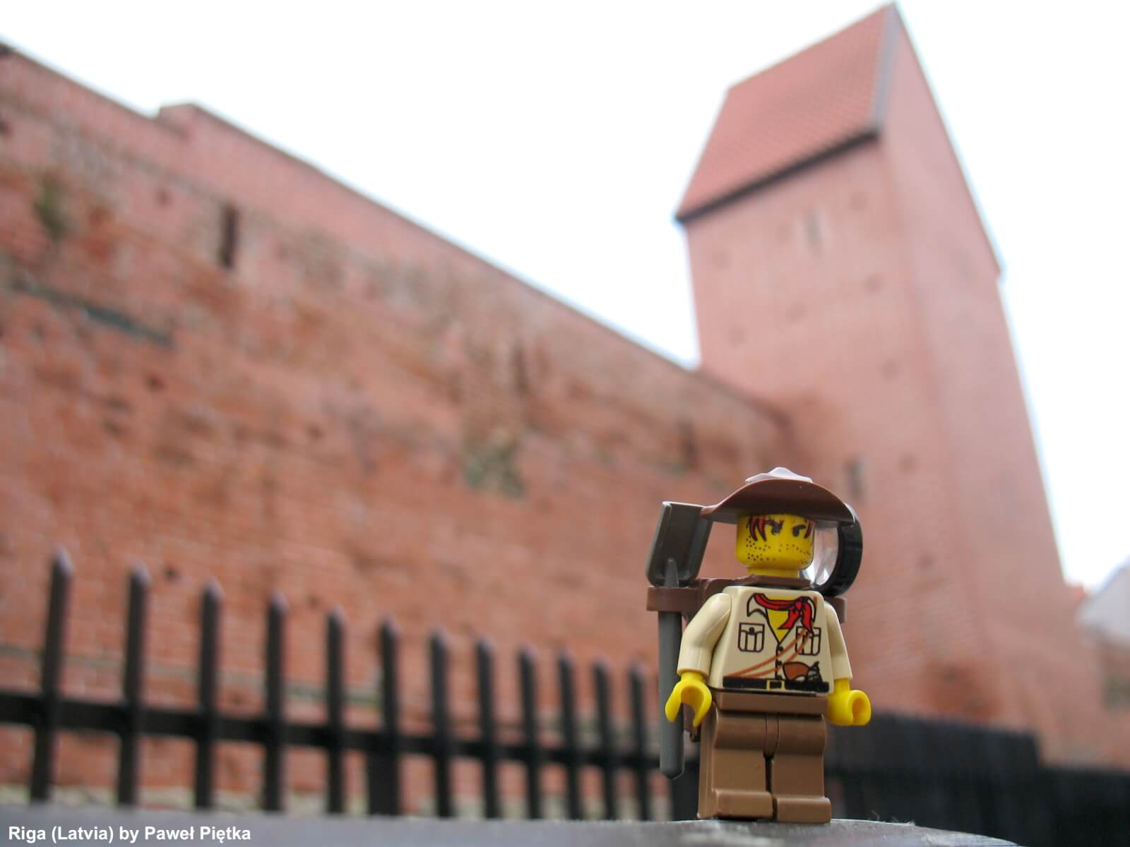 Riga (Latvia) - Old City Walls