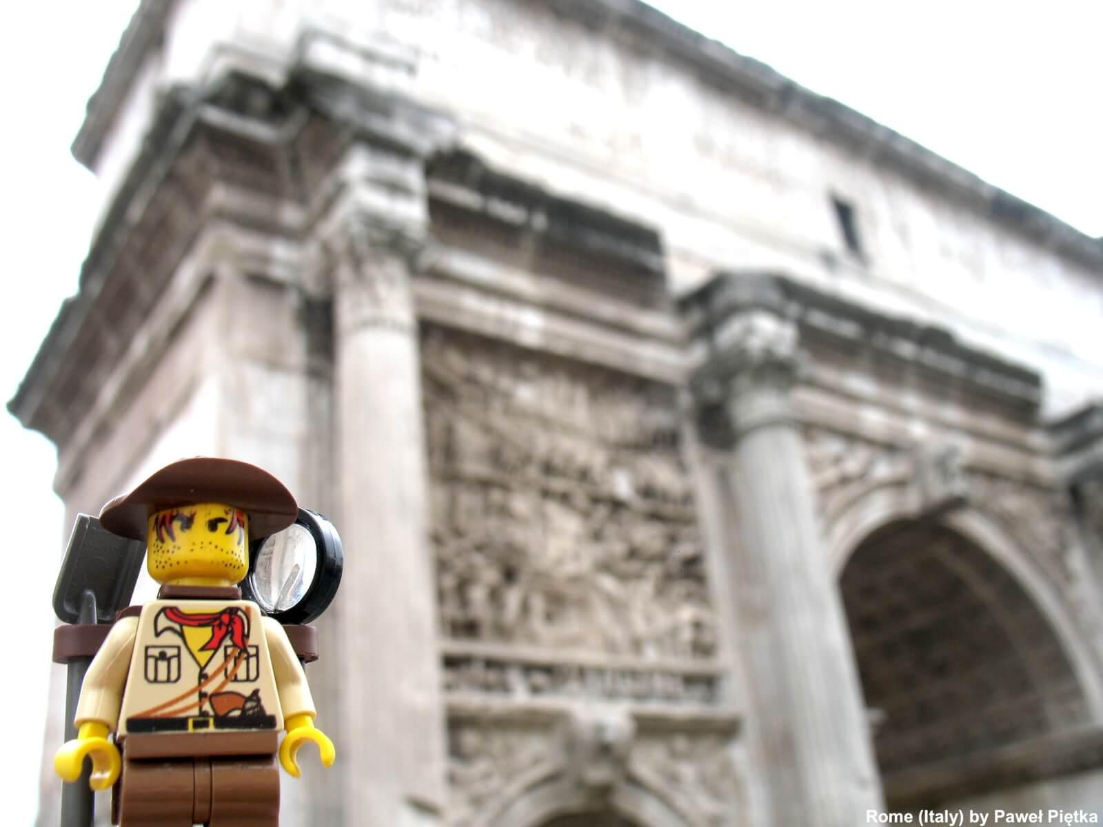 Rome (Italy) - Arch of Septimius Severus