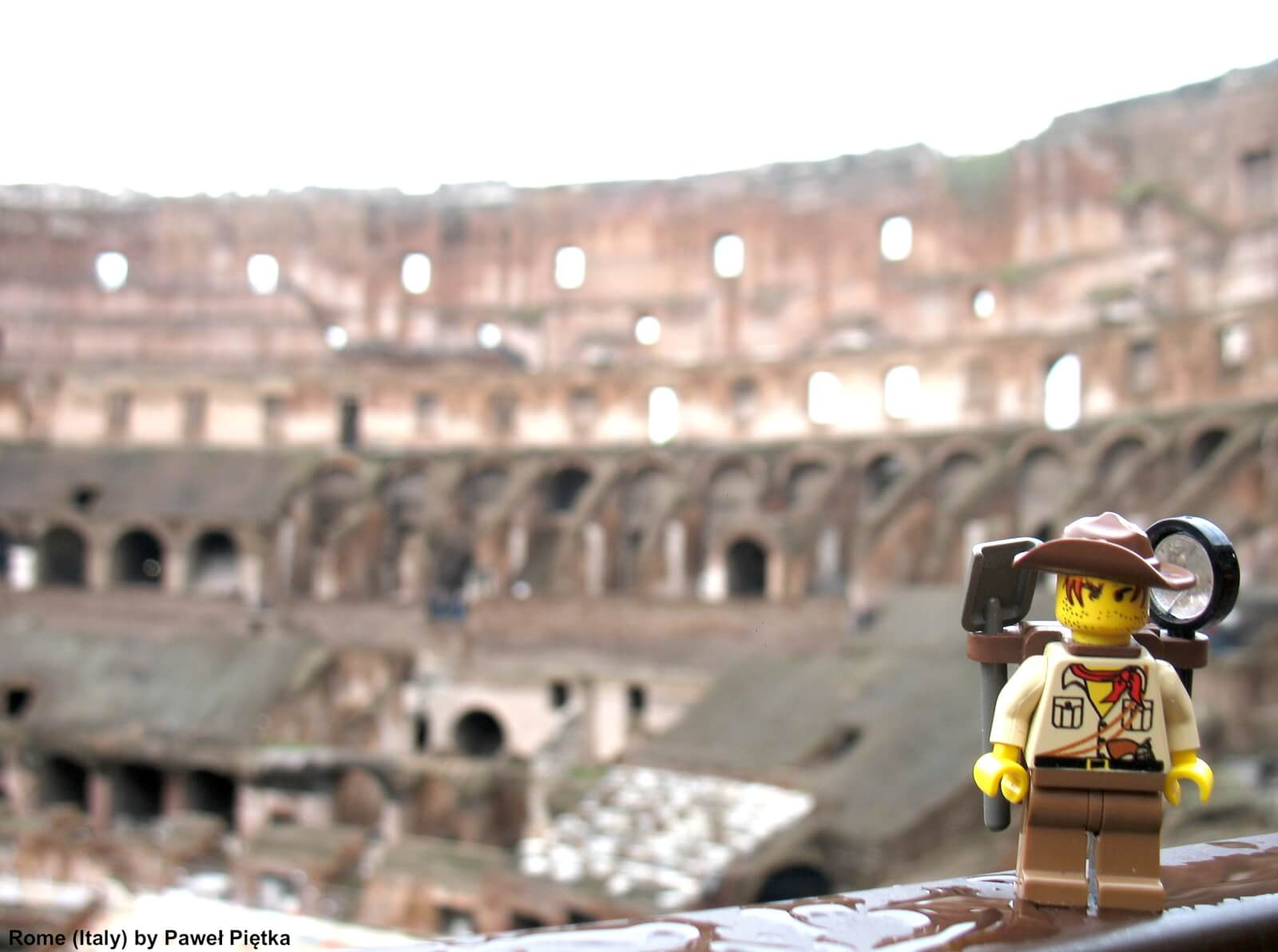 Rome (Italy) - Internal view of the Colosseum