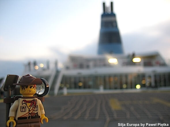 Silja Europa - The biggest cruise ship on the Baltic Sea