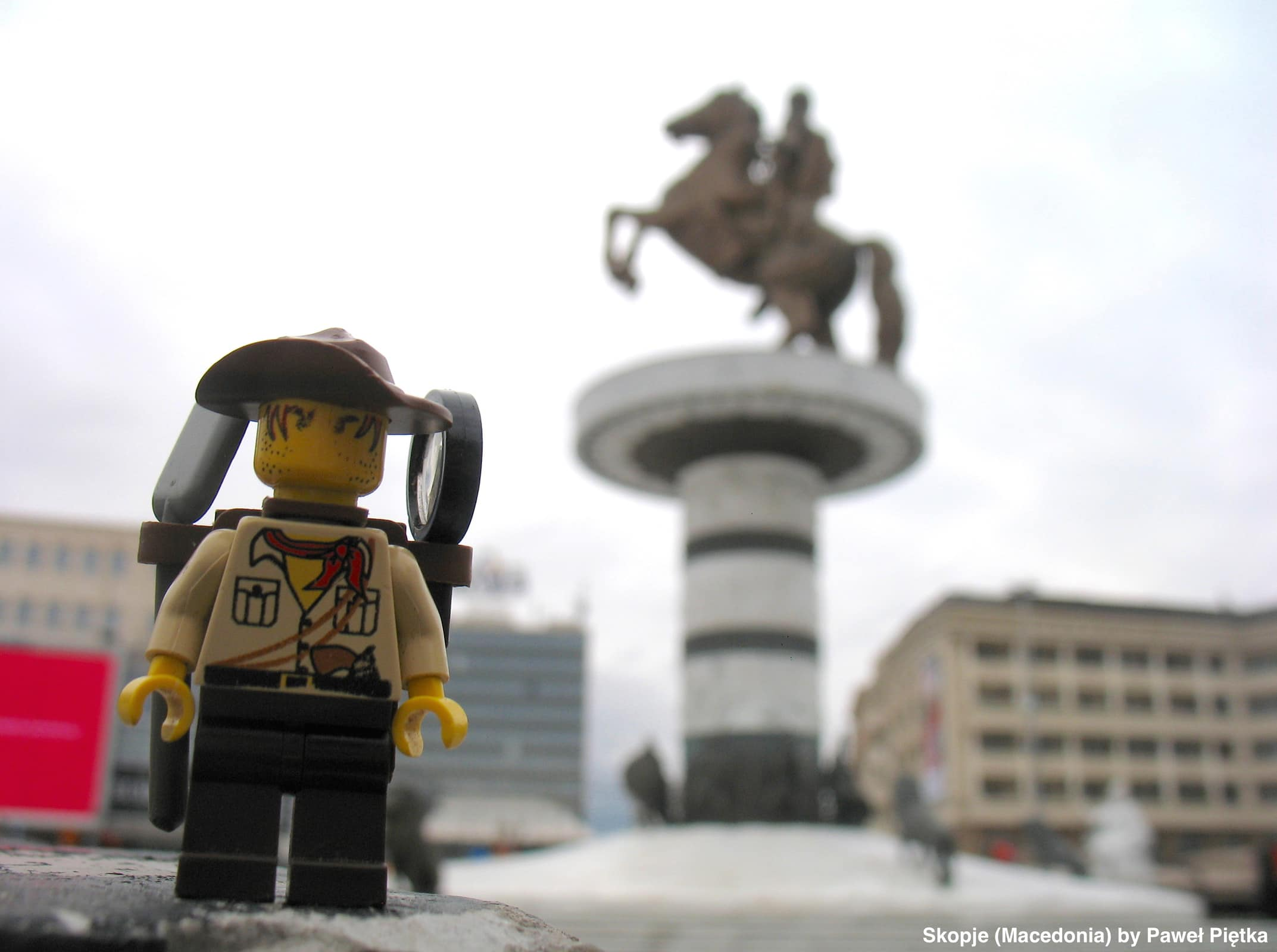 Skopje (Macedonia) - Macedonia Square Alexander the Great