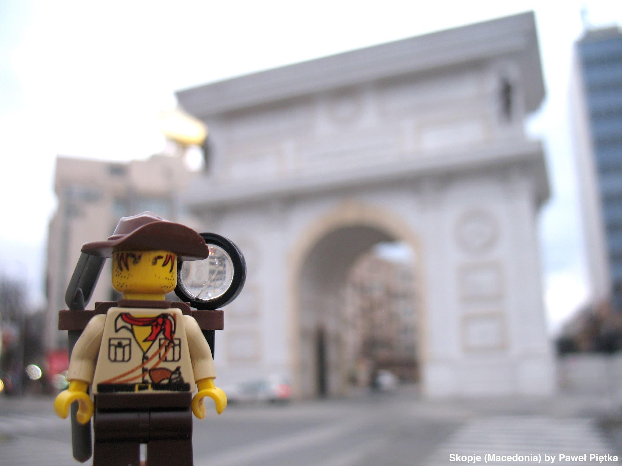 Skopje (Macedonia) - Porta Macedonia